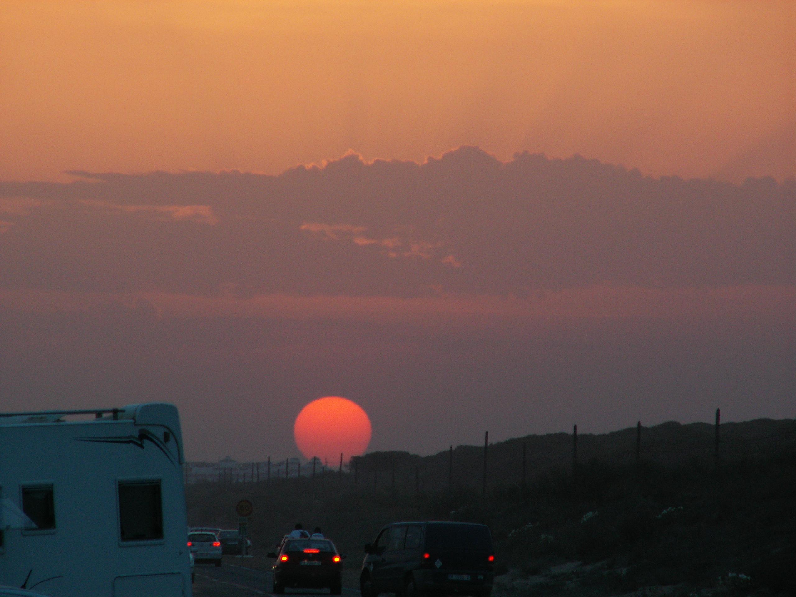 Foto playa La Bota. punta umbría