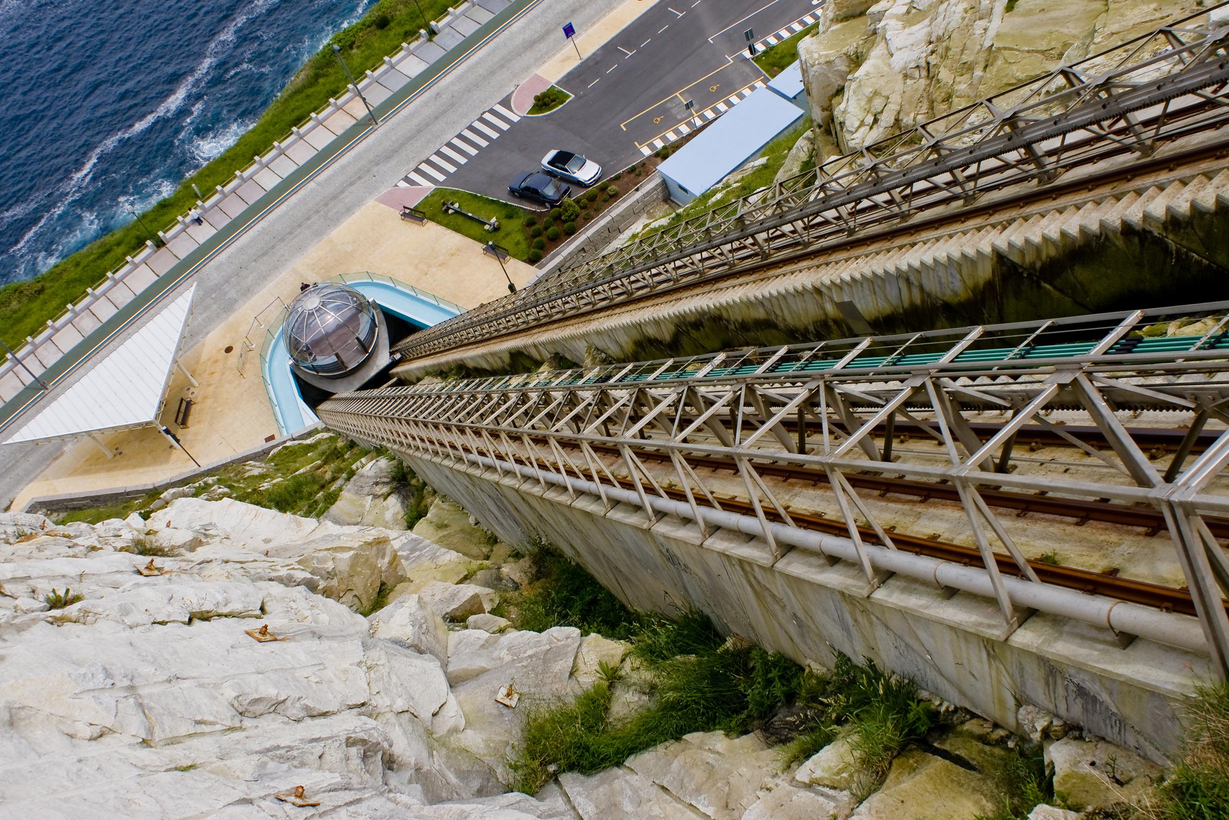 Foto playa Lino. Ball-elevator in A Coruña