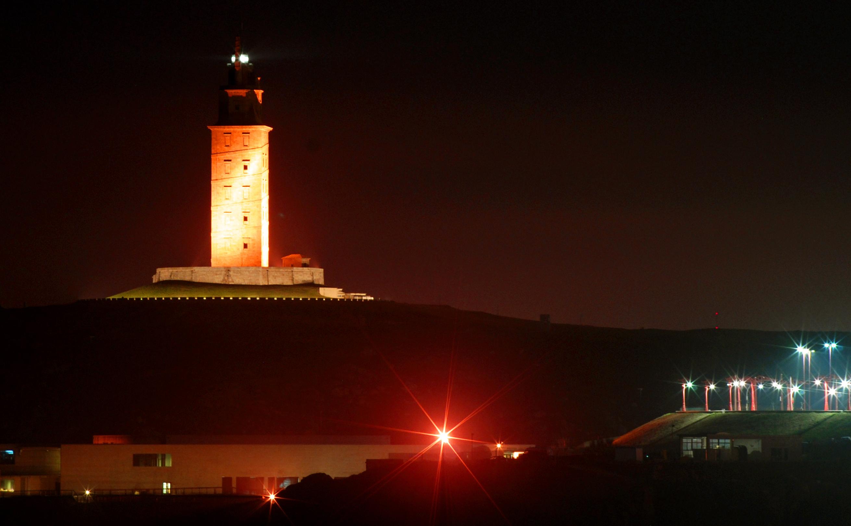 Foto playa Lino. ¡La diosa noctámbula...!