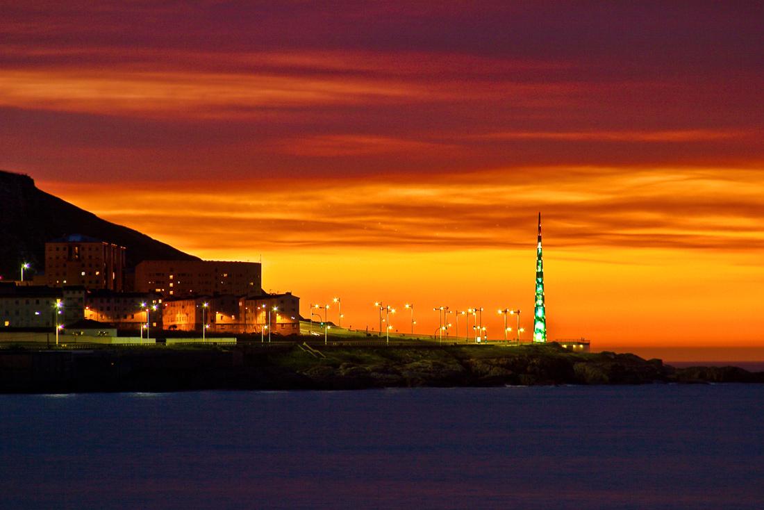 Foto playa Orzán. Millenium