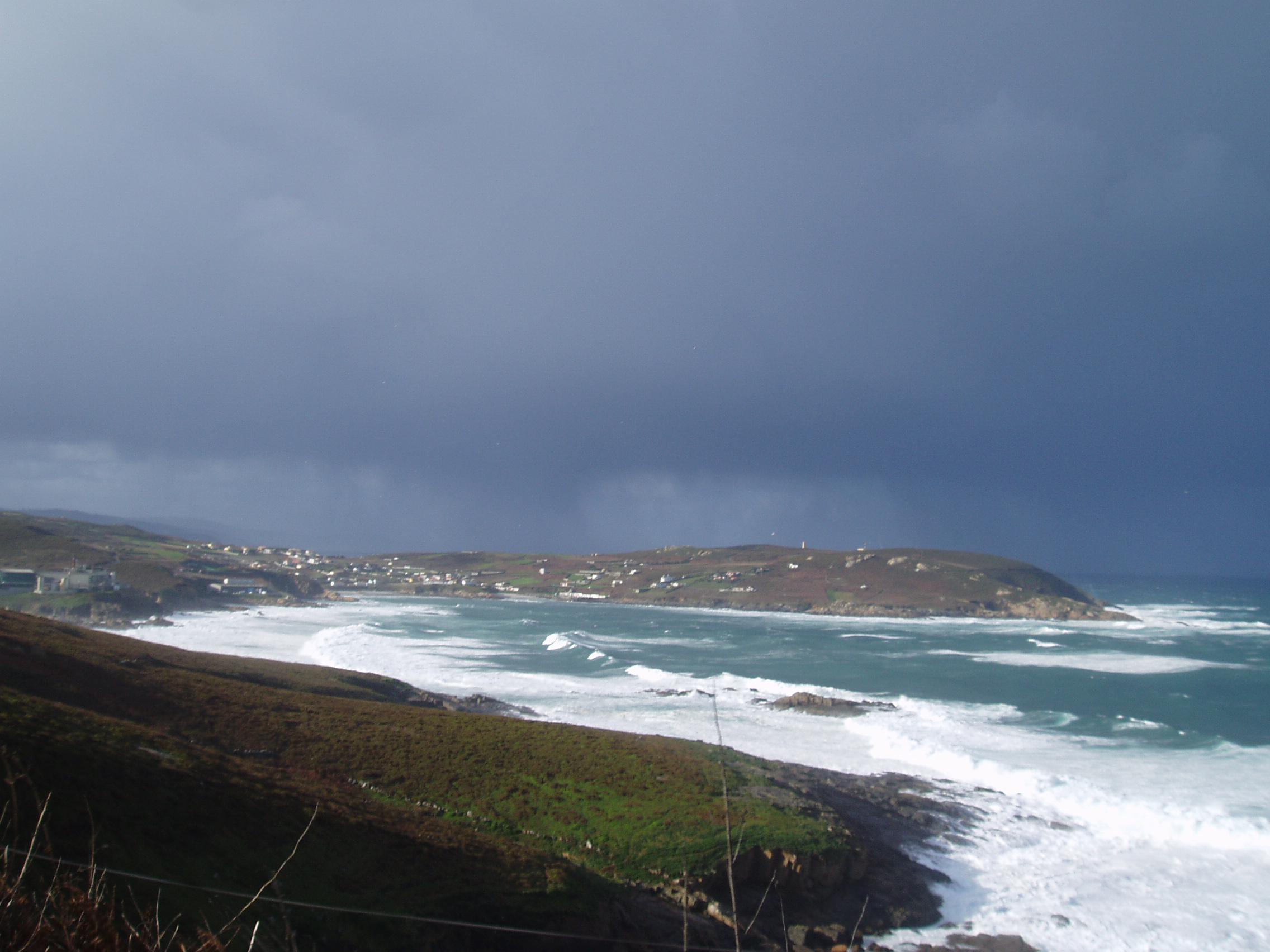 Foto playa Matadero / Berberiana. punta langosteira