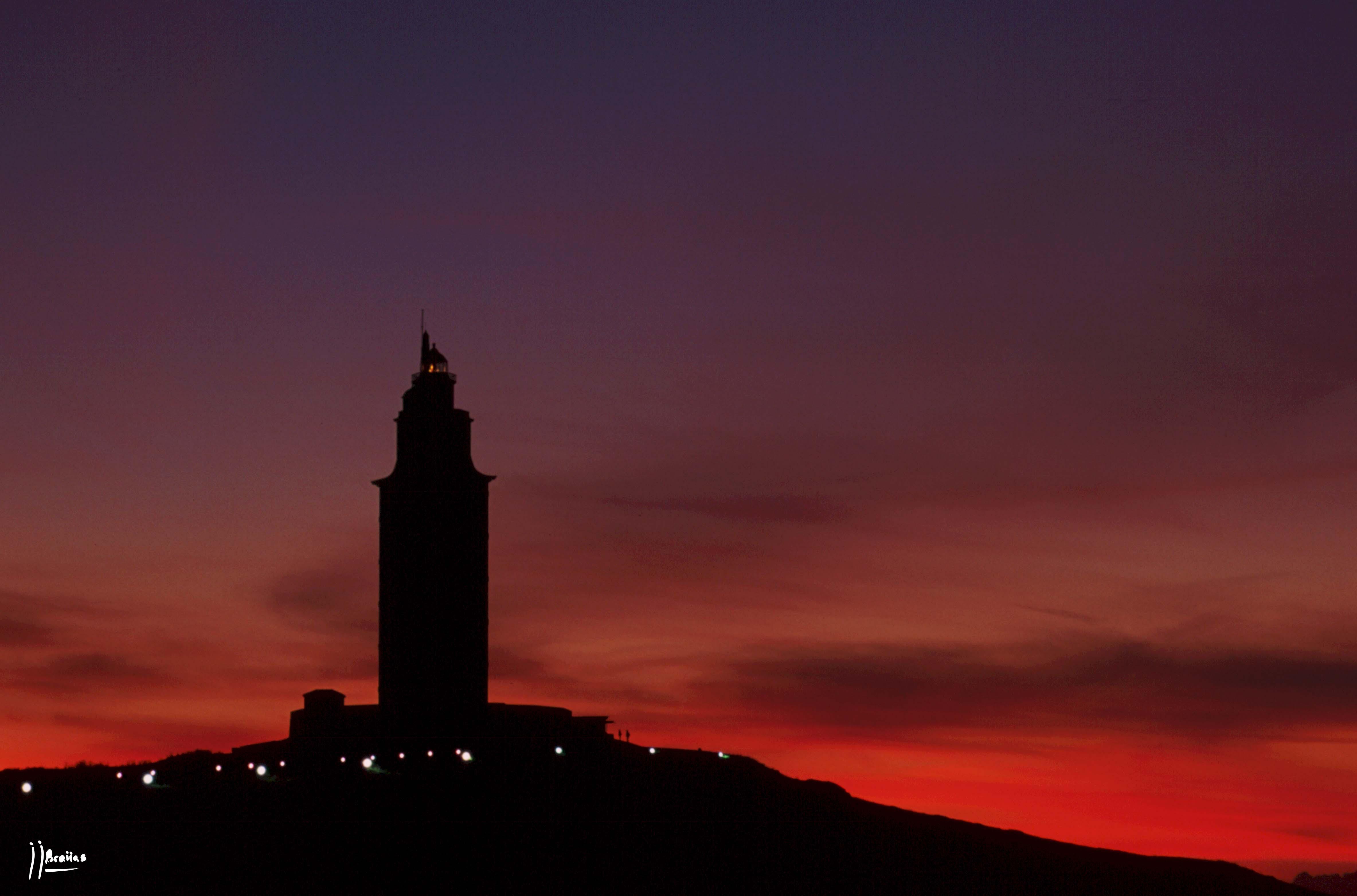 Foto playa As Lapas / O Arenal. torre