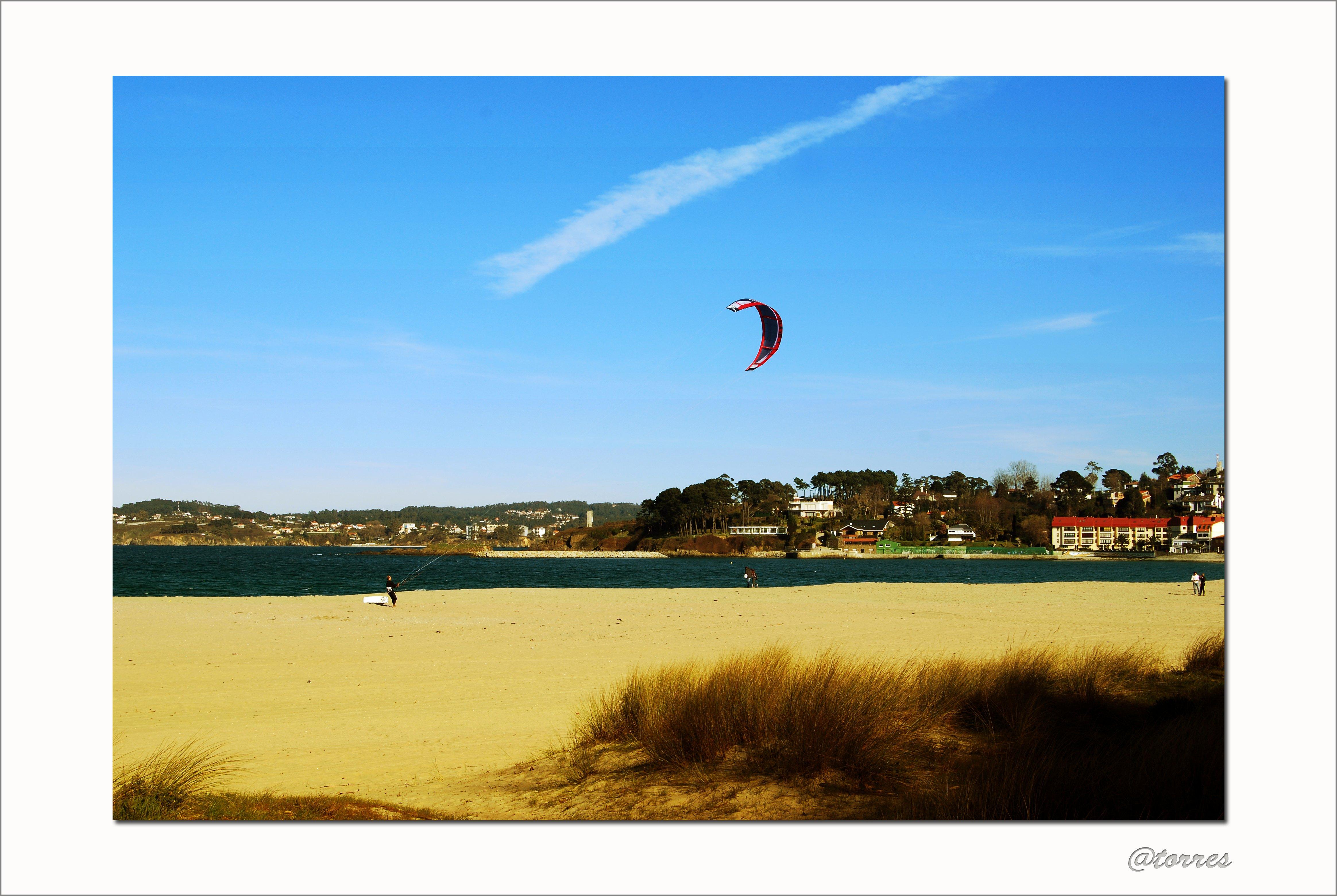 Foto playa Oza. Playa de Santa Cristina, Oleiros, A Coruña.