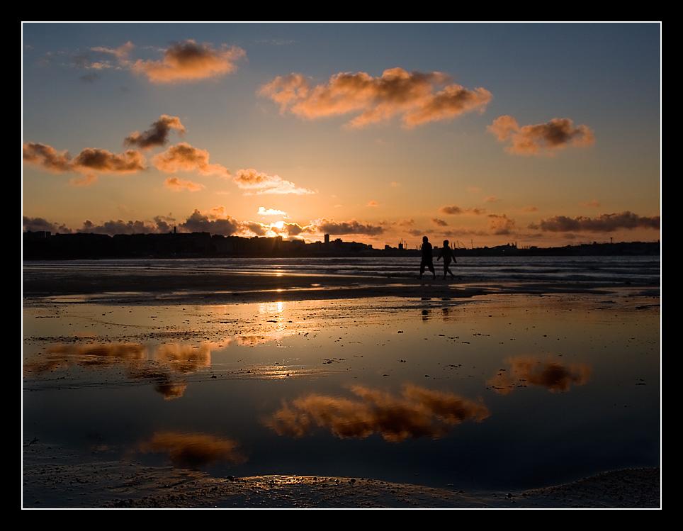 Foto playa Bastiagueiro. Caminar es sano...