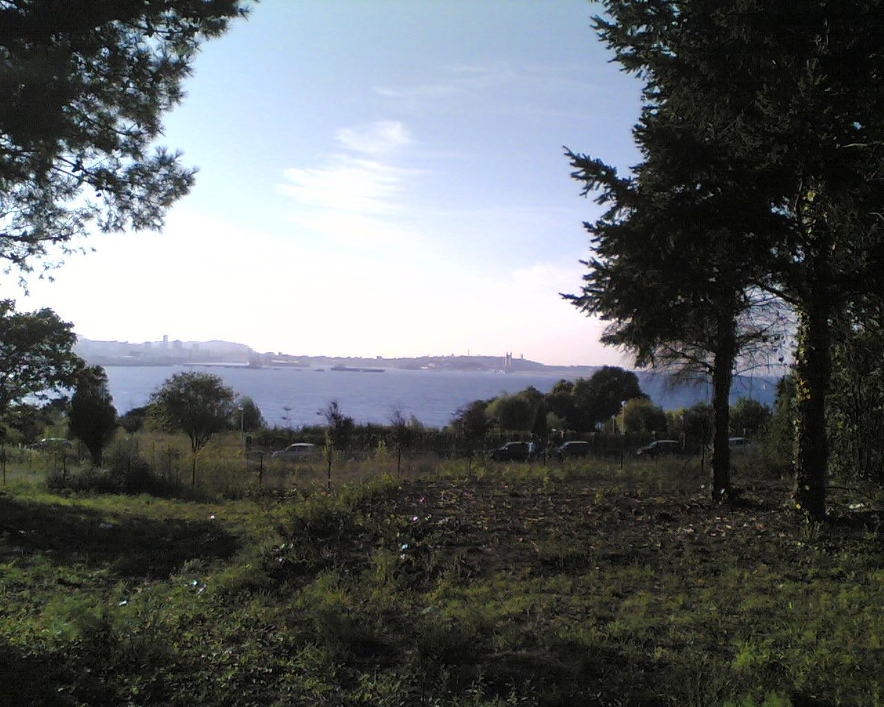 Foto playa Bastiagueiriño. Parque de las Galeras (Oleiros, La Coruña)