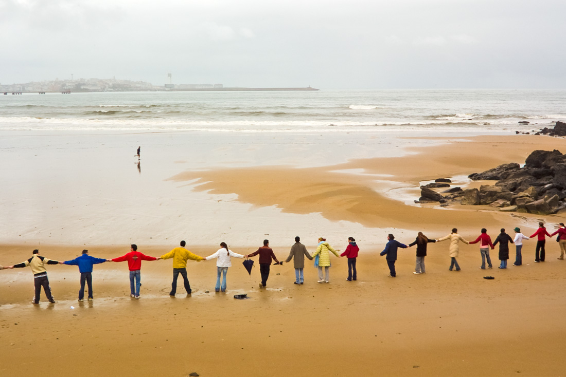 Foto playa Bastiagueiriño. nunca máis