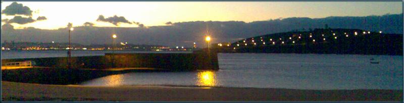 Foto playa Mera. Mera (Oleiros) Puerto y Bahía