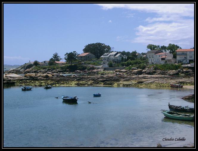 Foto playa Espiñeiro. Isla de Arousa. Pontevedra