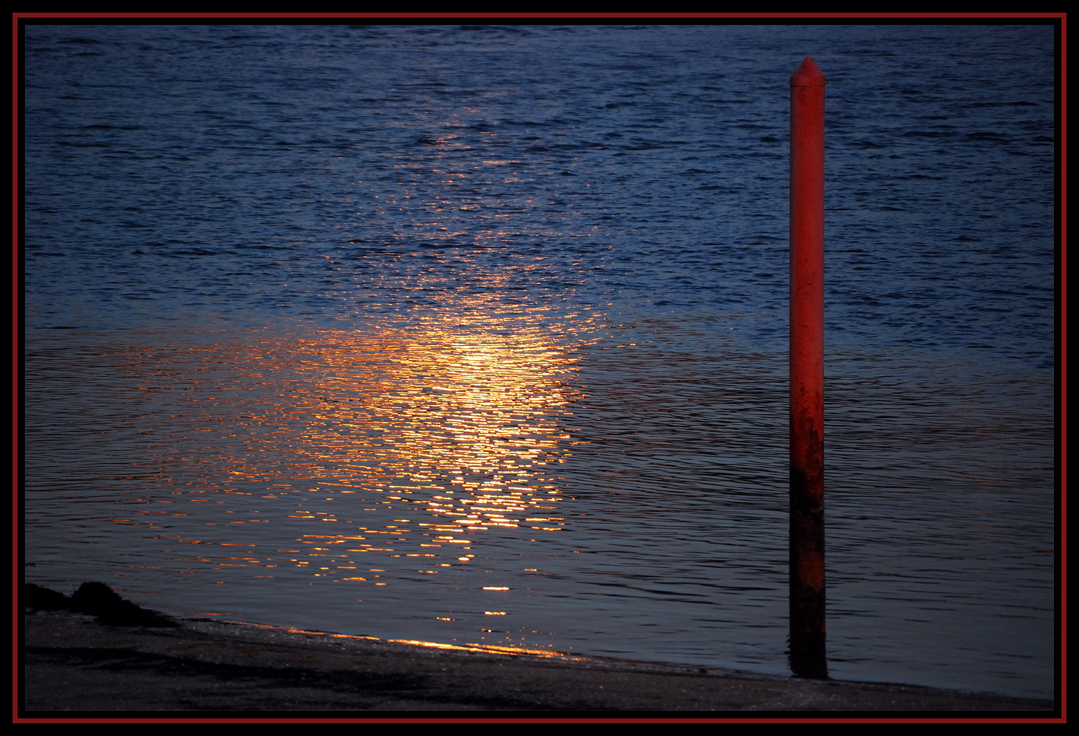 Foto playa Lourido. Escollera