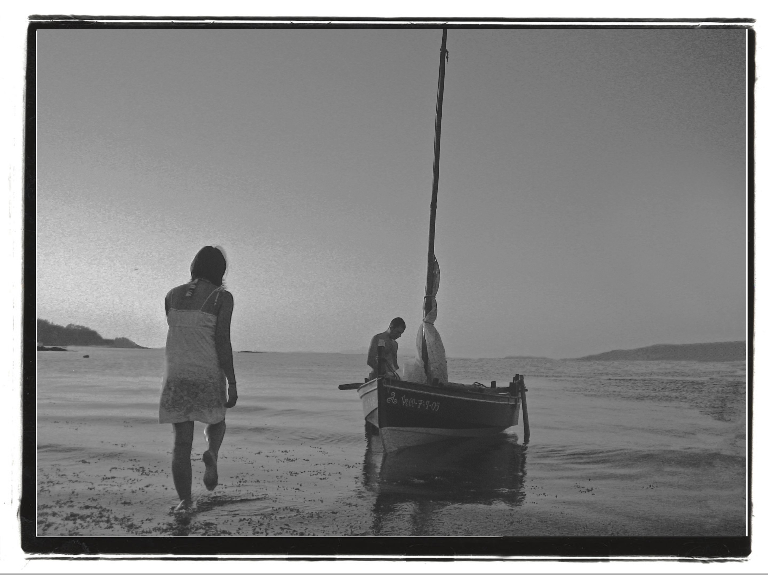 Foto playa Arnela. Vuelta a Casa..