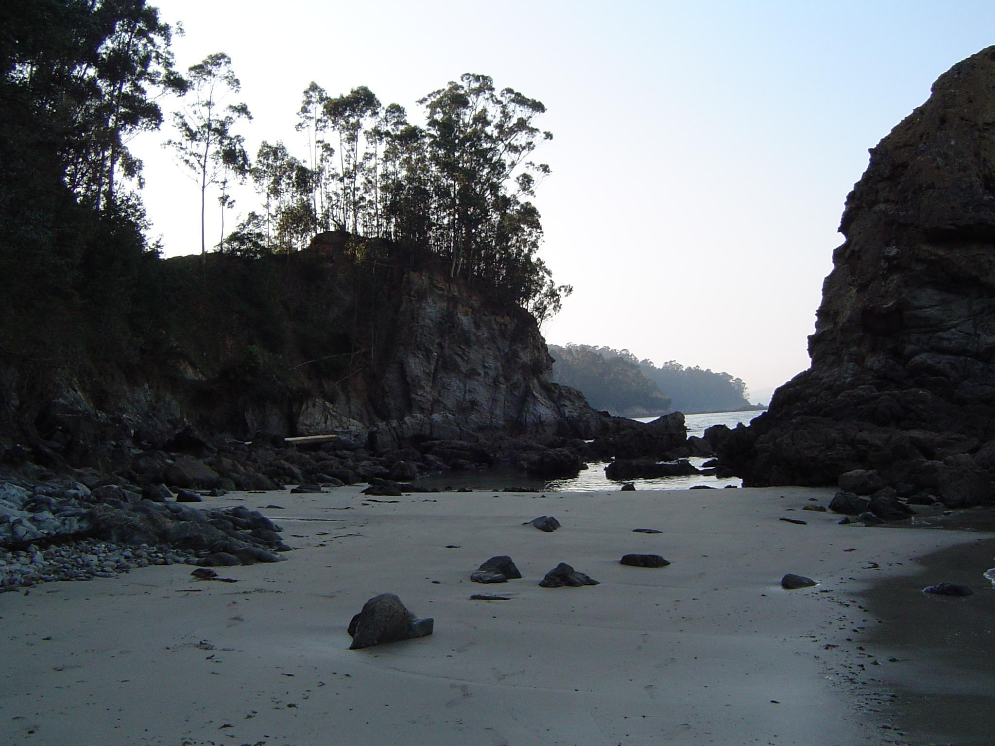 Foto playa Lobos. Cala cerca de Morazón