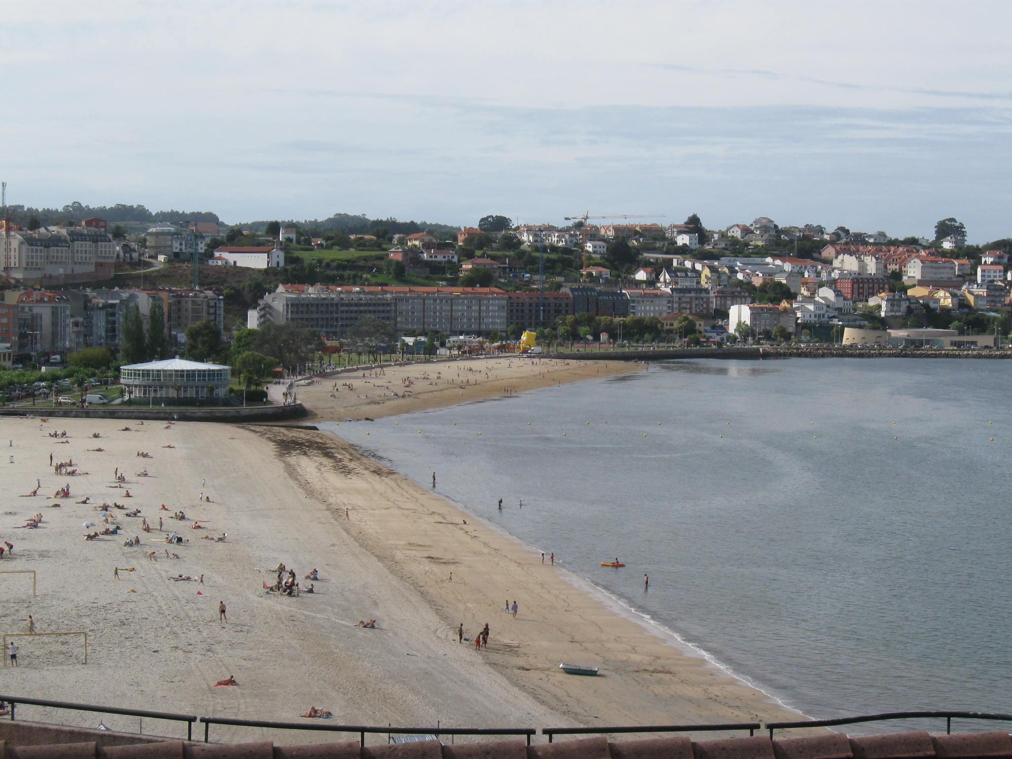 Foto playa Sada / Las Delicias / As Delicias. Sada (La Coruña)