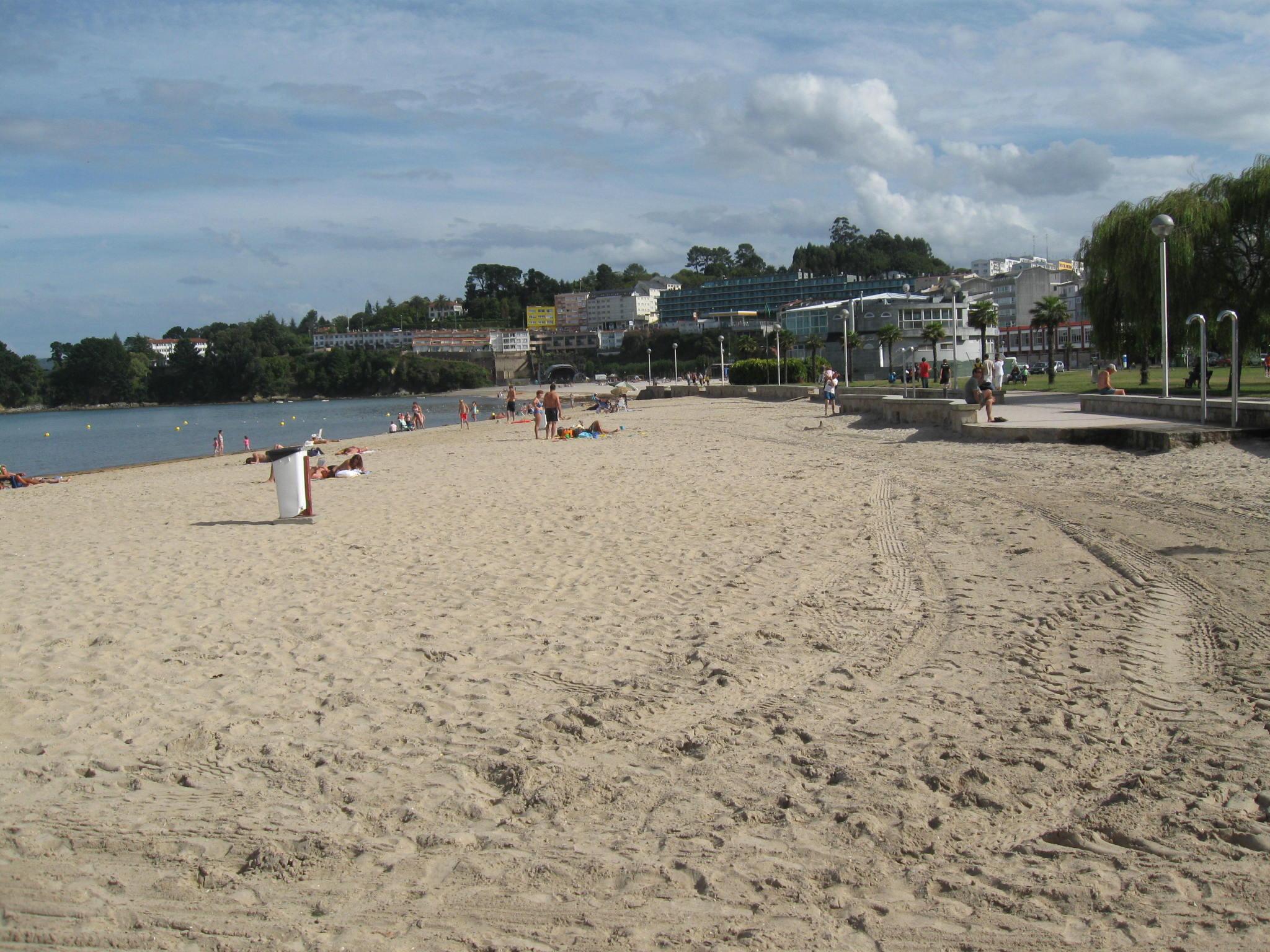 Foto playa Sada / Las Delicias / As Delicias. Playa de Sada (La Coruña)