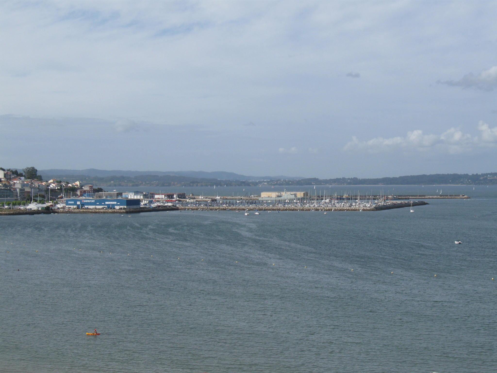 Foto playa Sada / Las Delicias / As Delicias. Puerto de Sada (La Coruña)