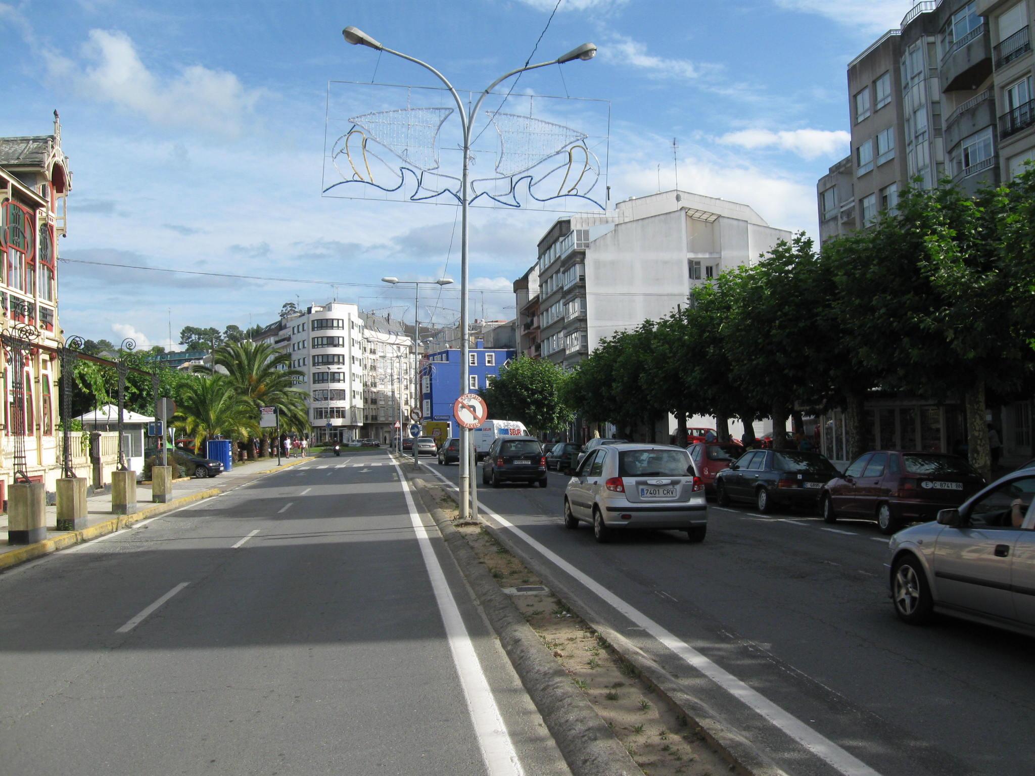 Foto playa Sada / Las Delicias / As Delicias. Alameda. Sada (La Coruña)