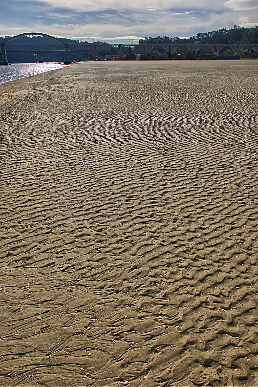 Foto playa El Pedrido. arena