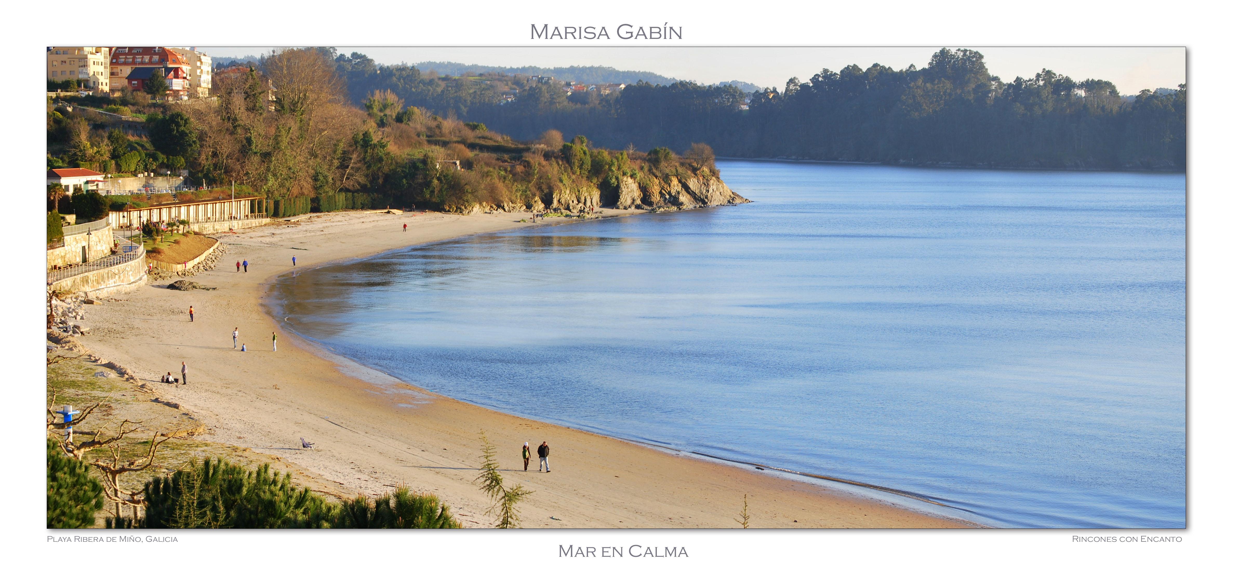 Foto playa Grande de Miño. Playa Ribera de Miño, Galicia