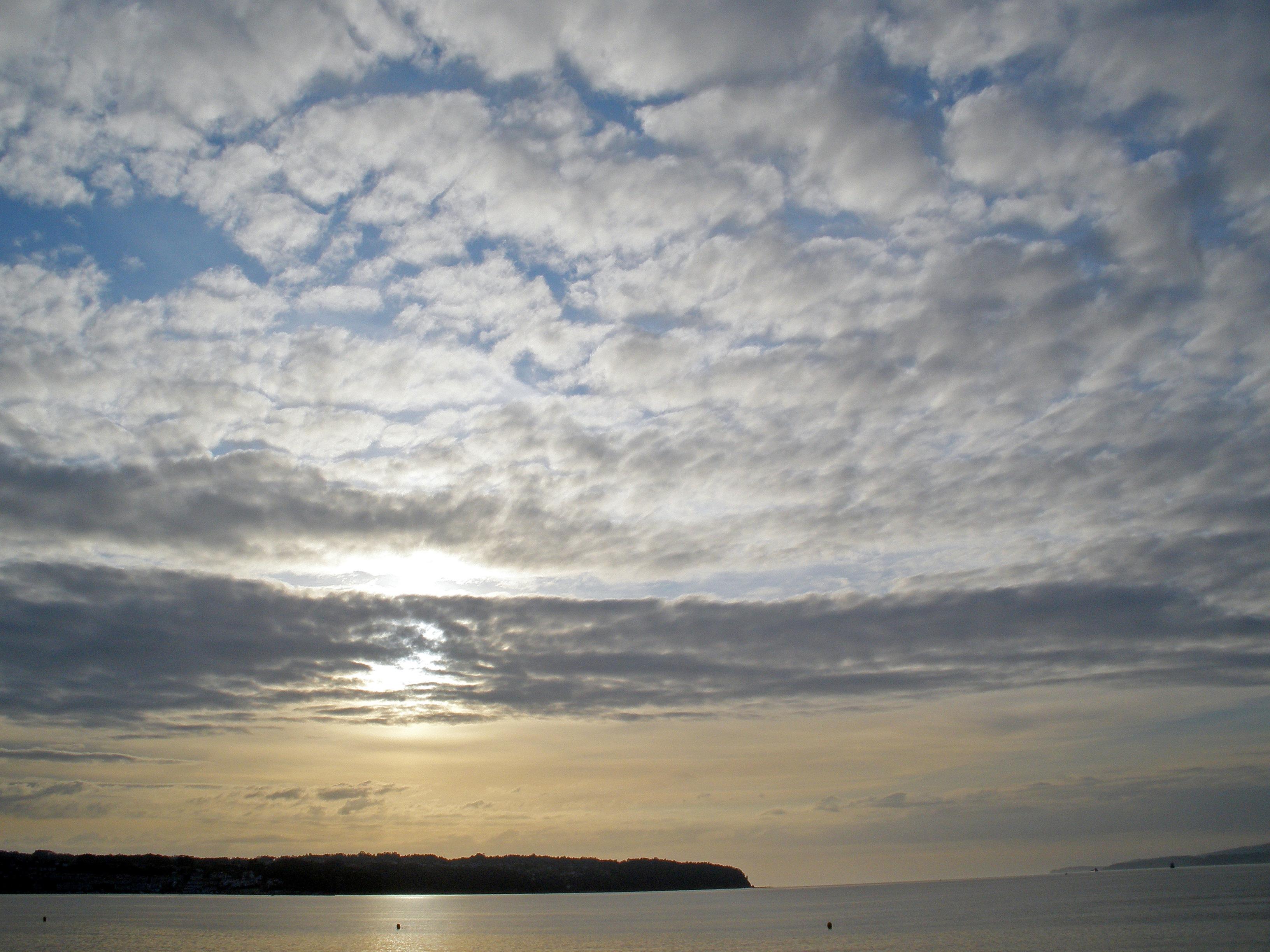 Foto playa Grande de Miño. Un sol oculto