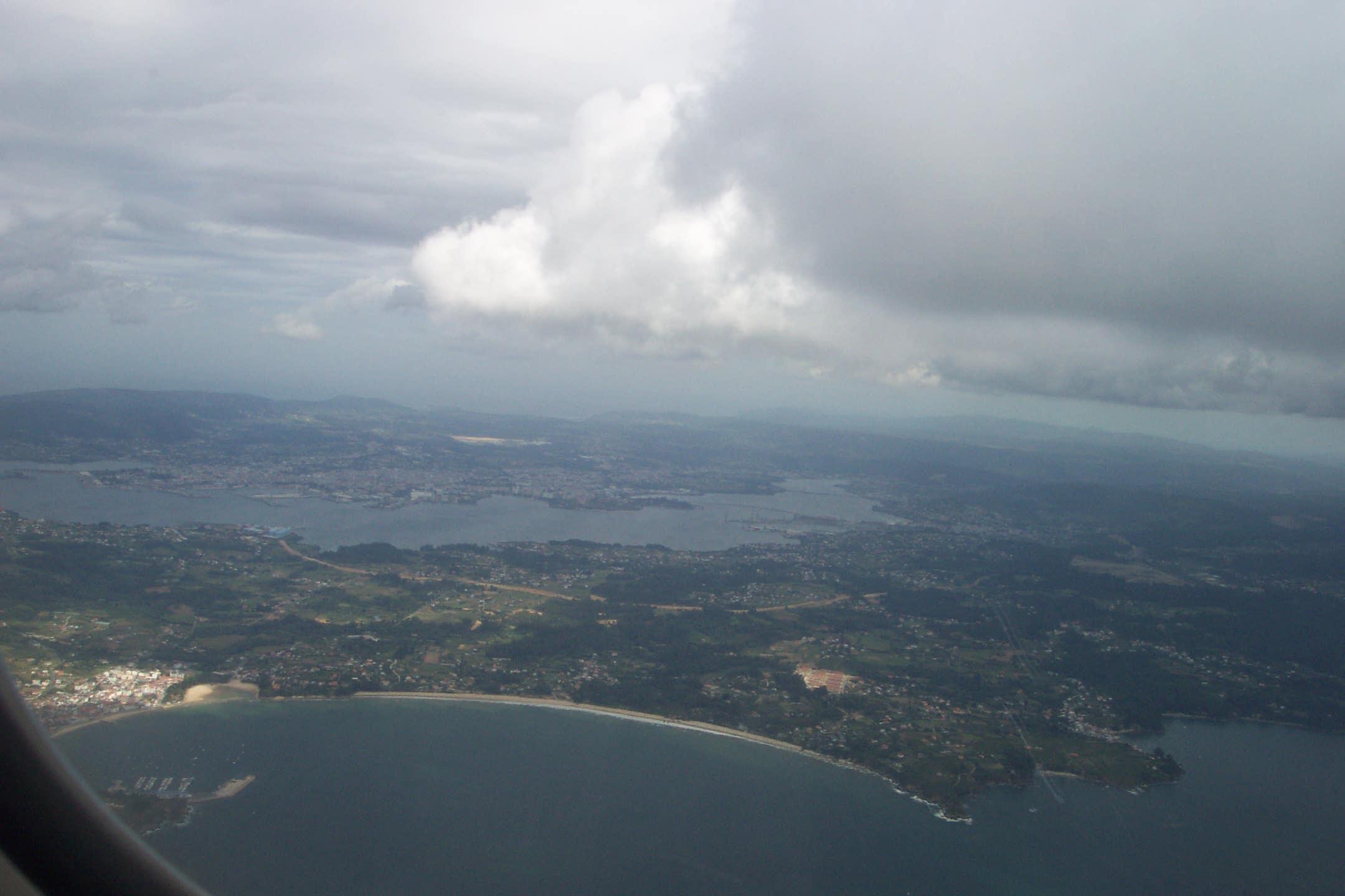 Foto playa Marín. Ares y Ferrol. La Coruña