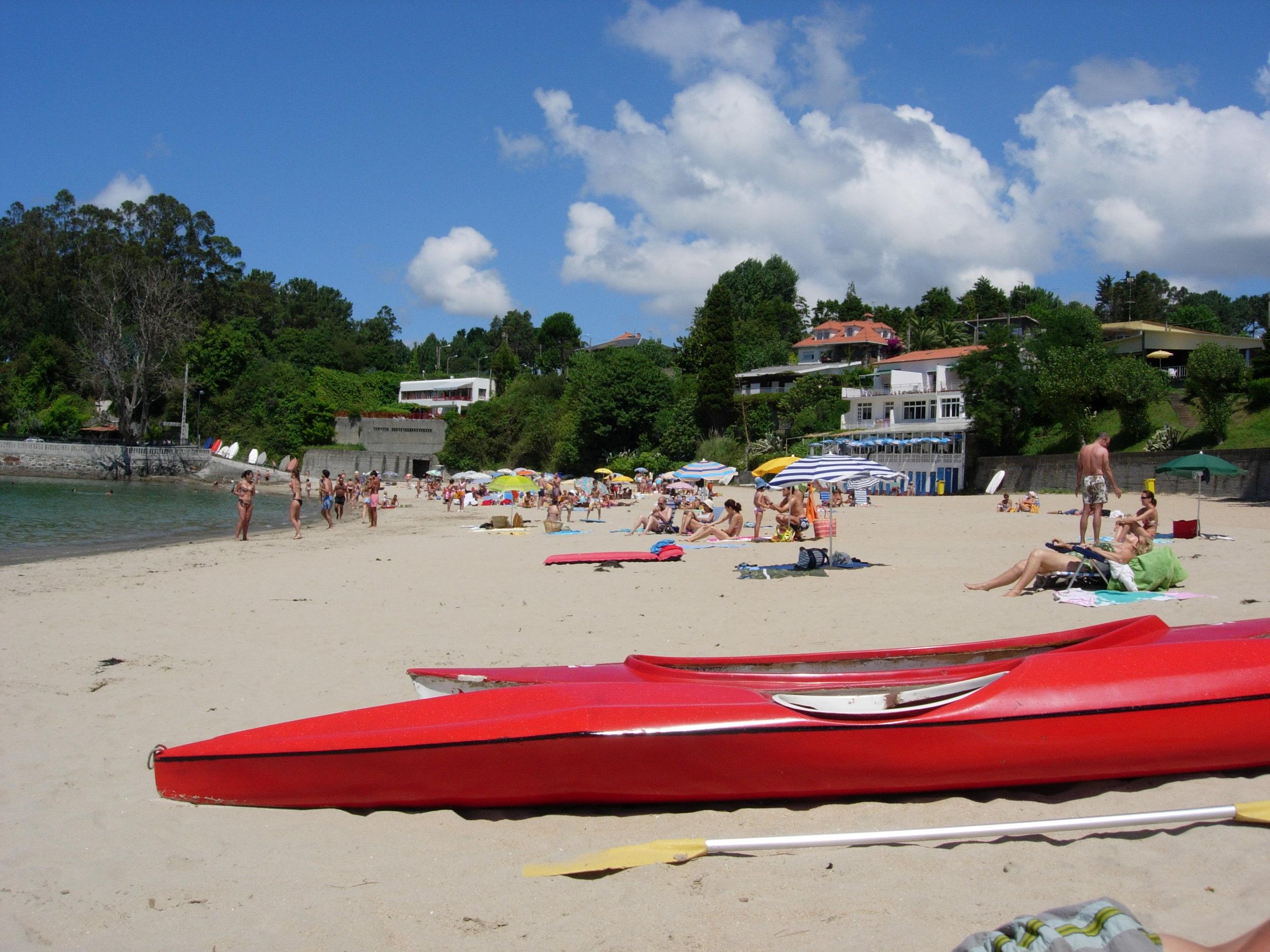 Foto playa Perbes / Andahio. Playa de Perbes