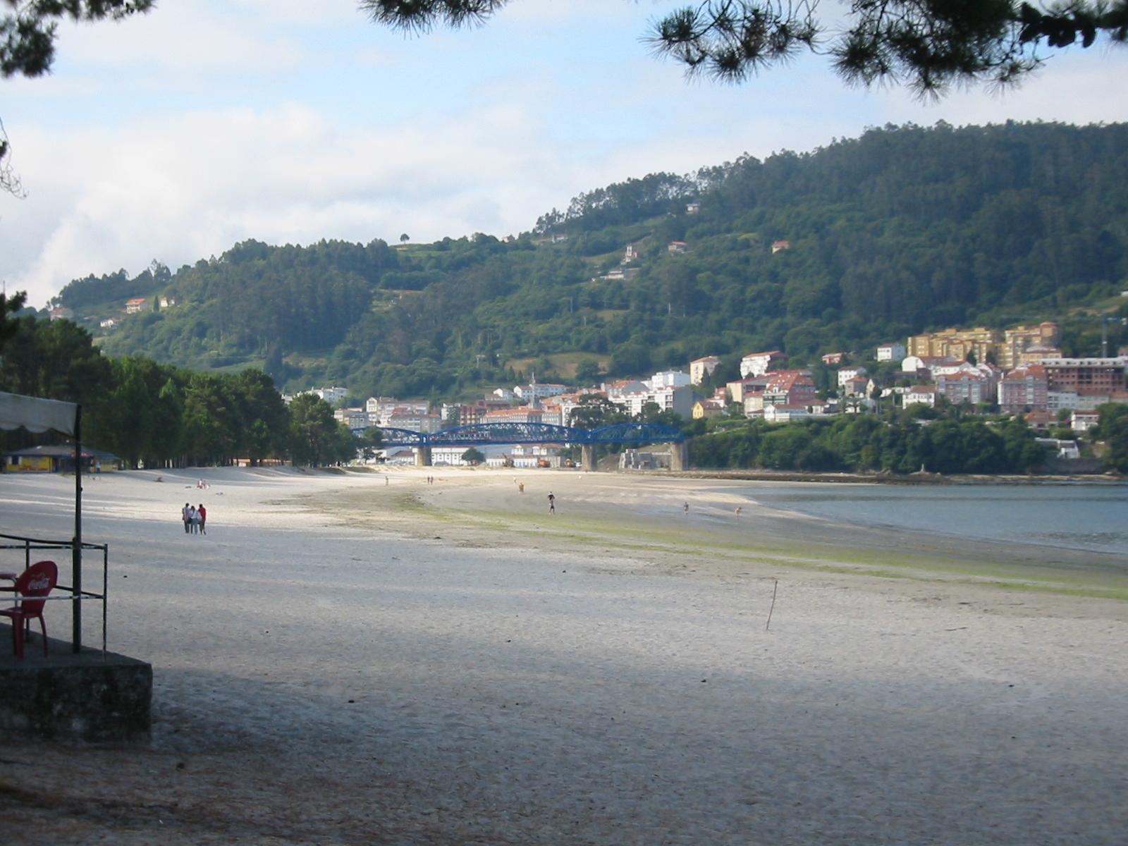 Foto playa La Madalena / Cabanas. CABANAS PUENTE DEL TREN