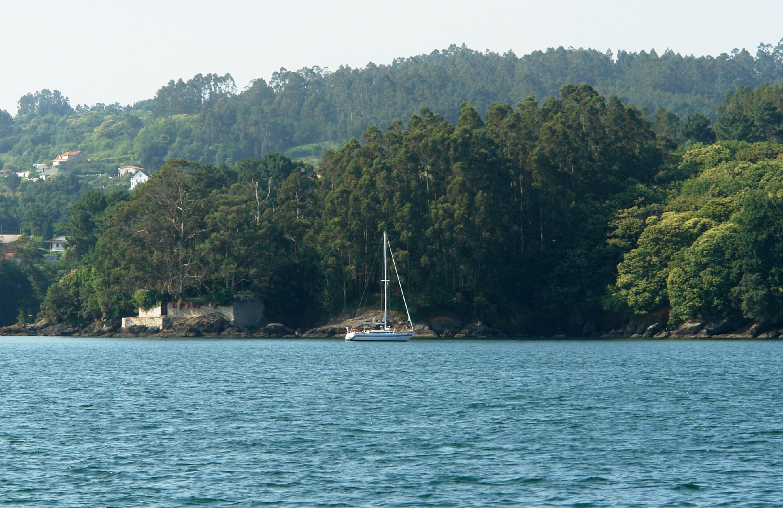 Foto playa Almieiras. Rio Castro, Galicia