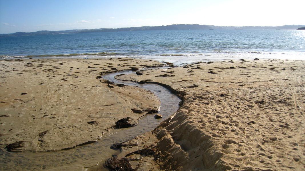 Foto playa Sabadelle. Sendares: Ares-Redes-Ares