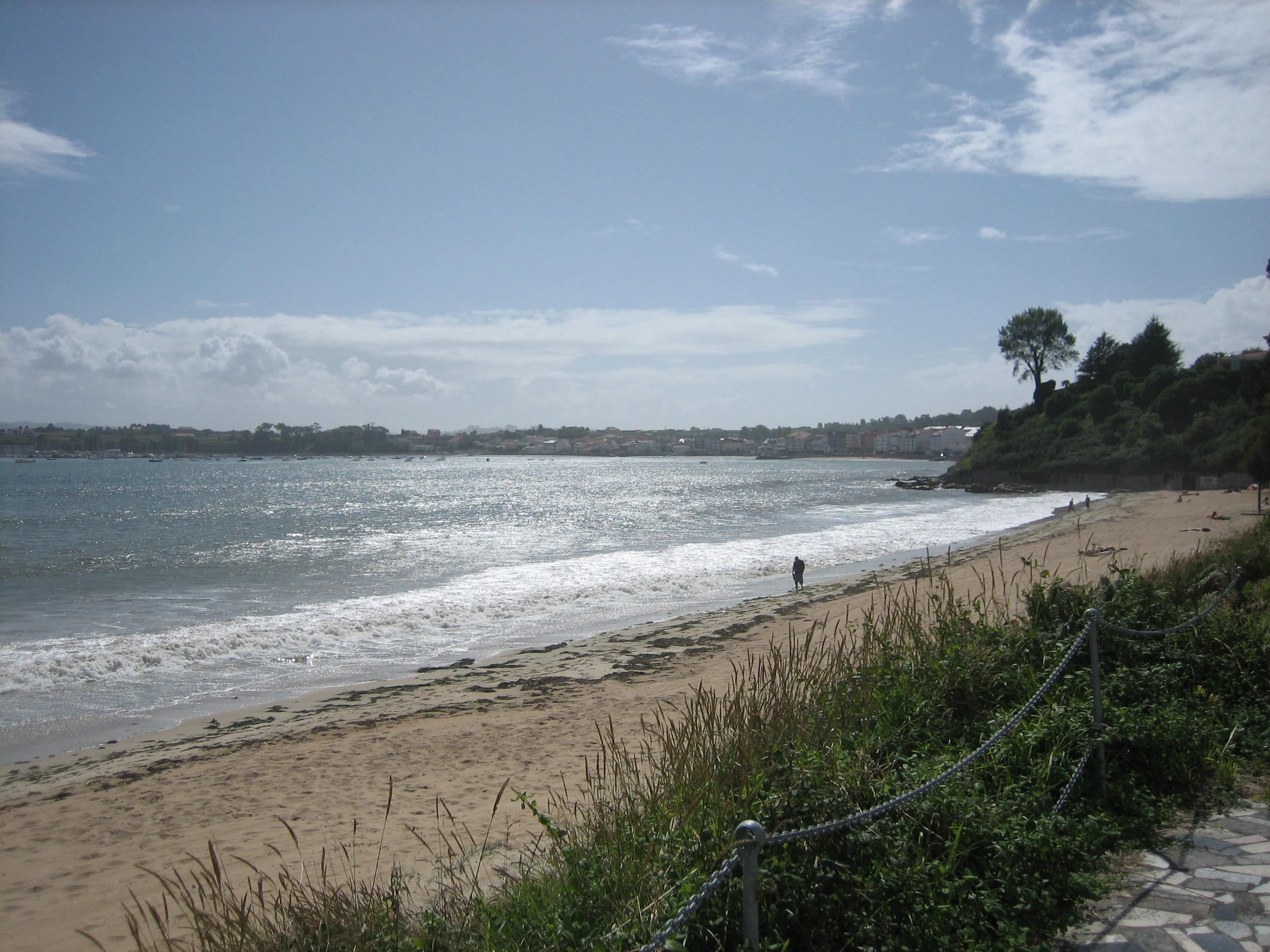 Foto playa Raso. Playa de Seselle