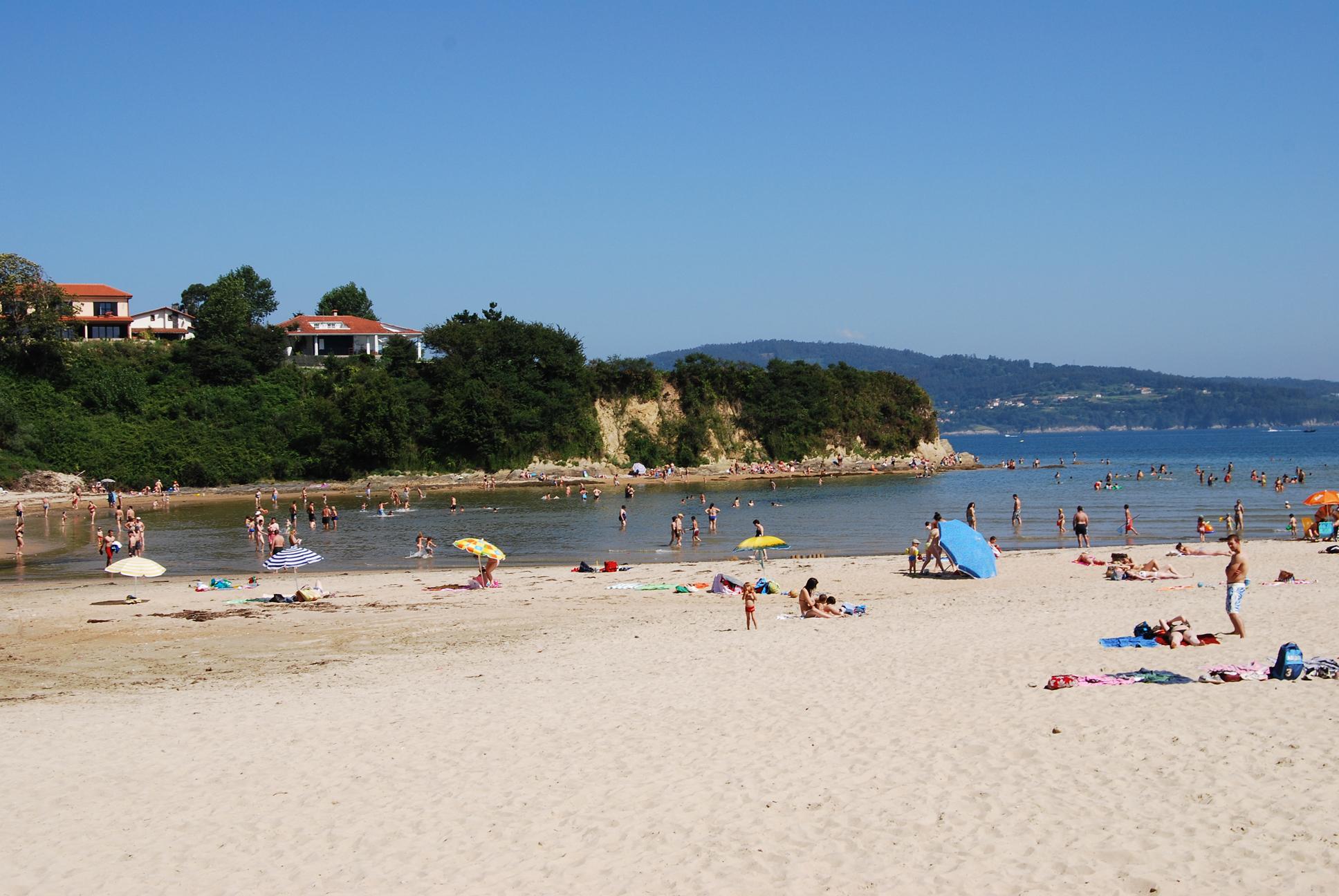 Foto playa Seselle. Playa de Ares.