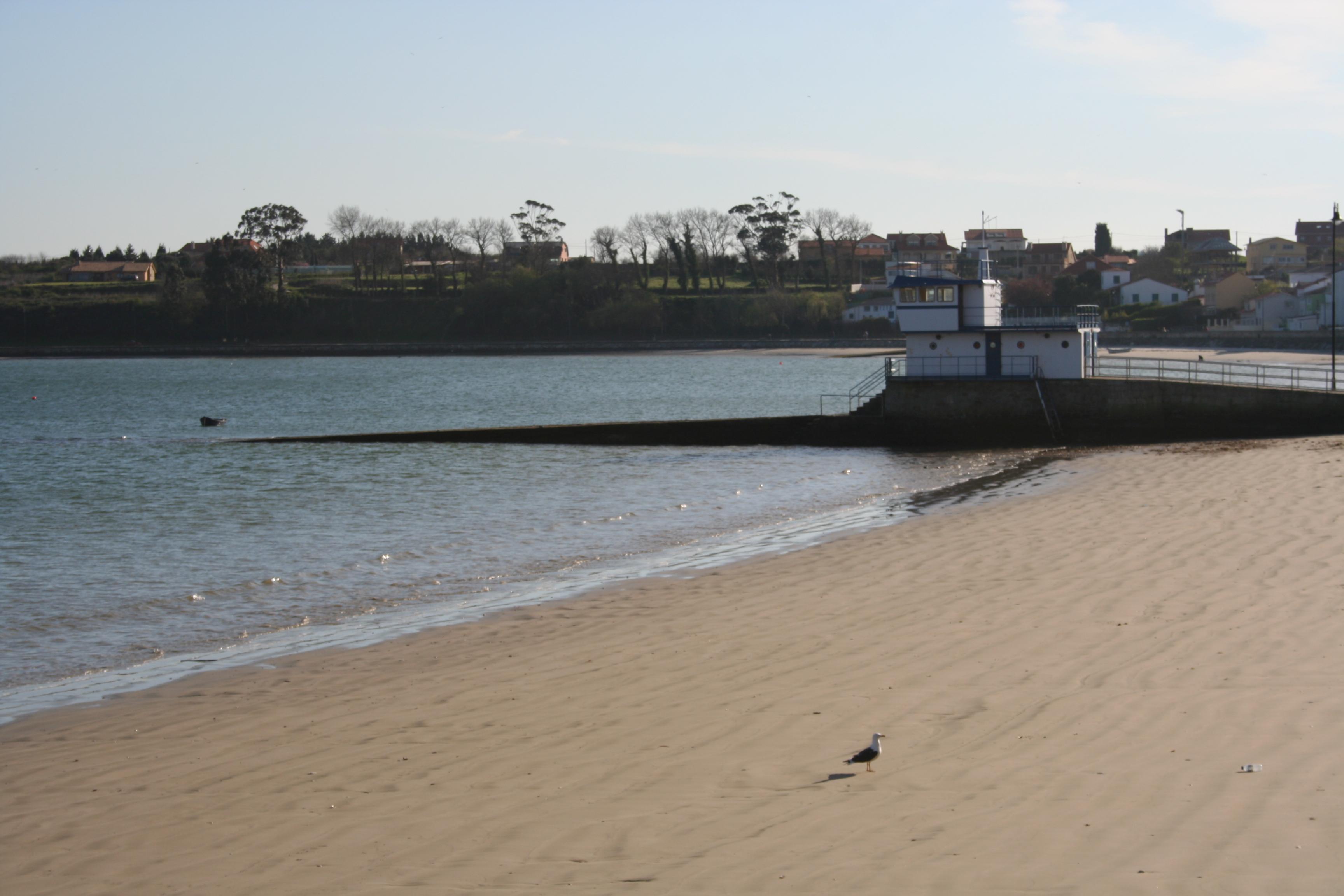 Foto playa Seselle. ESPIGON ARES