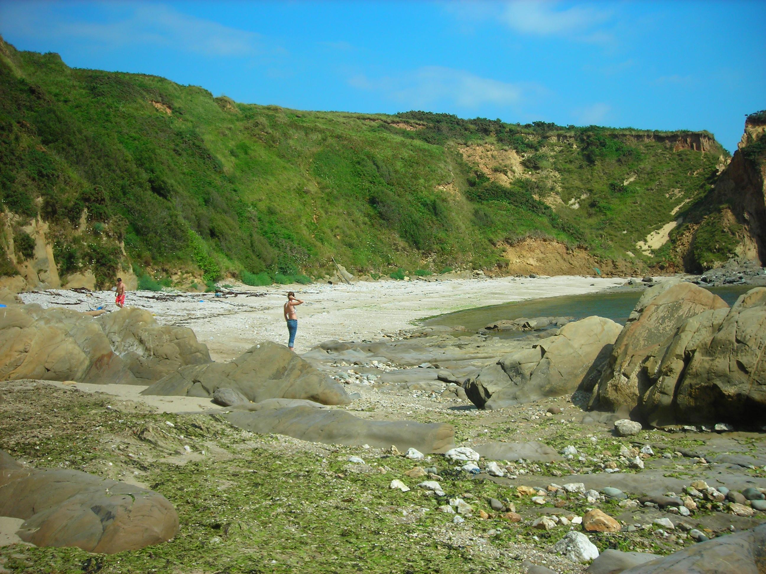 Foto playa Ribada / Centeas. mirandas