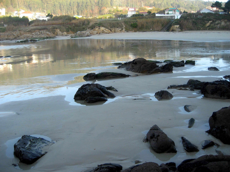 Foto playa Chanteiro. Playa en otoño