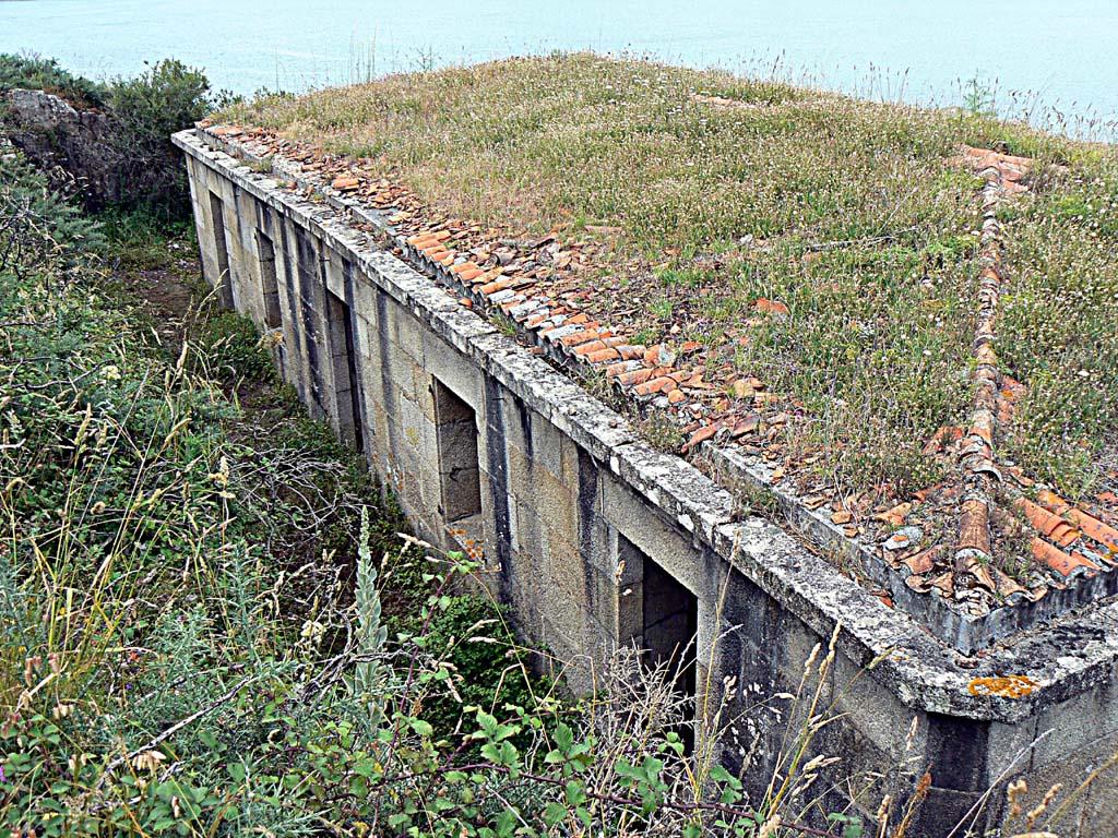 Foto playa Chanteiro. Punta Segaño, antigua bateria militar