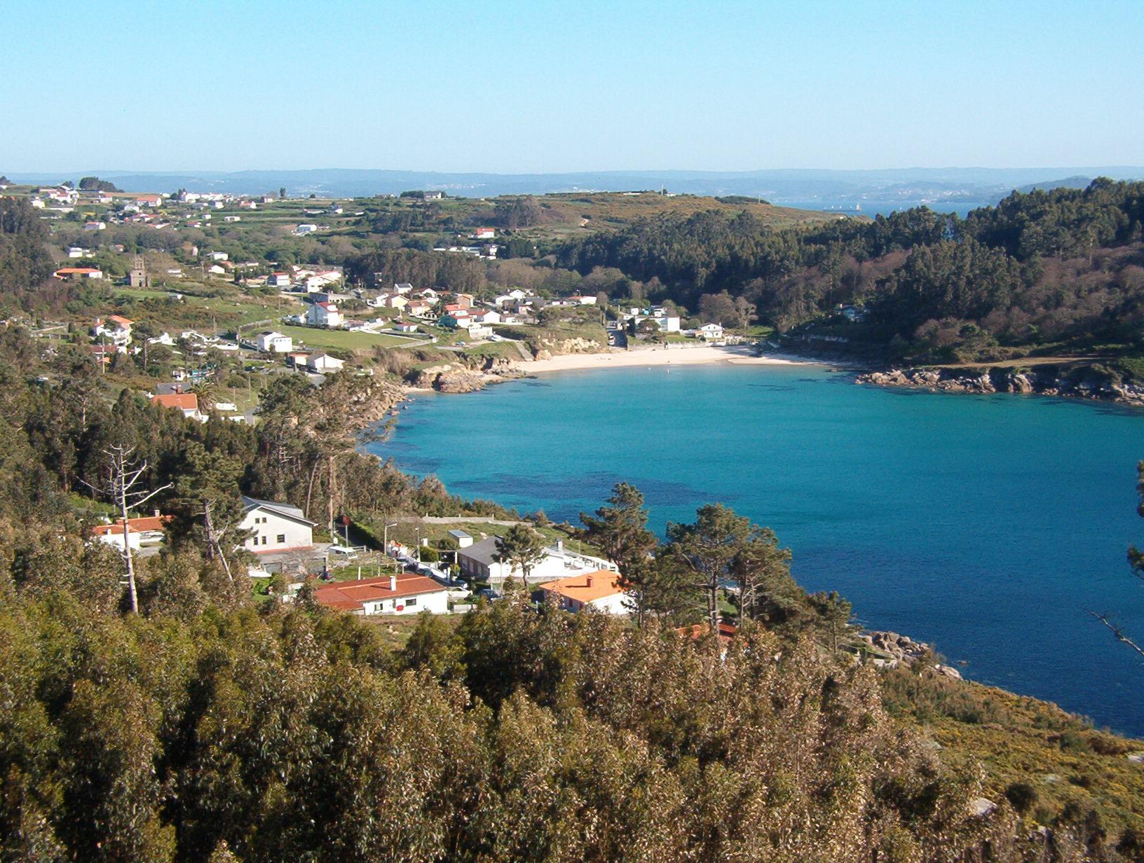 Foto playa Chanteiro. Chanteiro, desde punta segaño