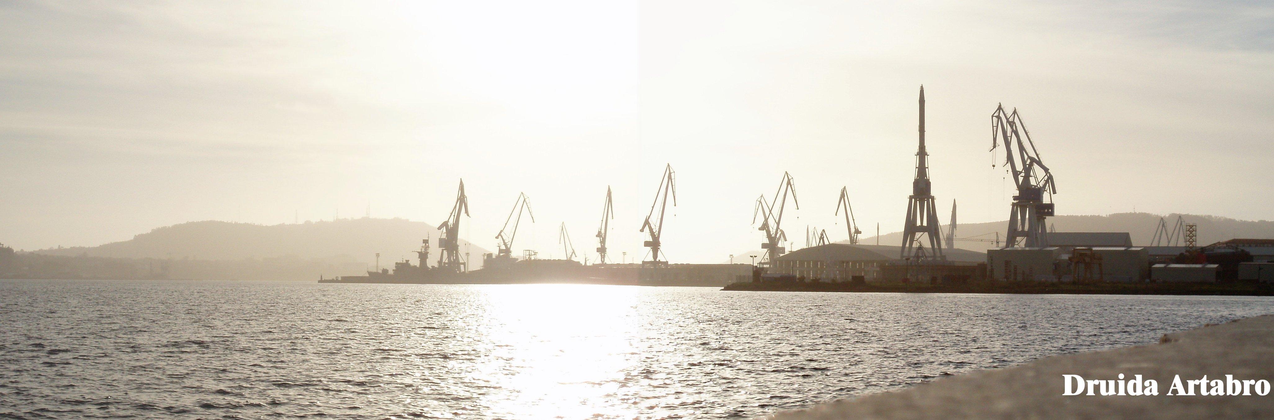 Foto playa Caranza. Bazan