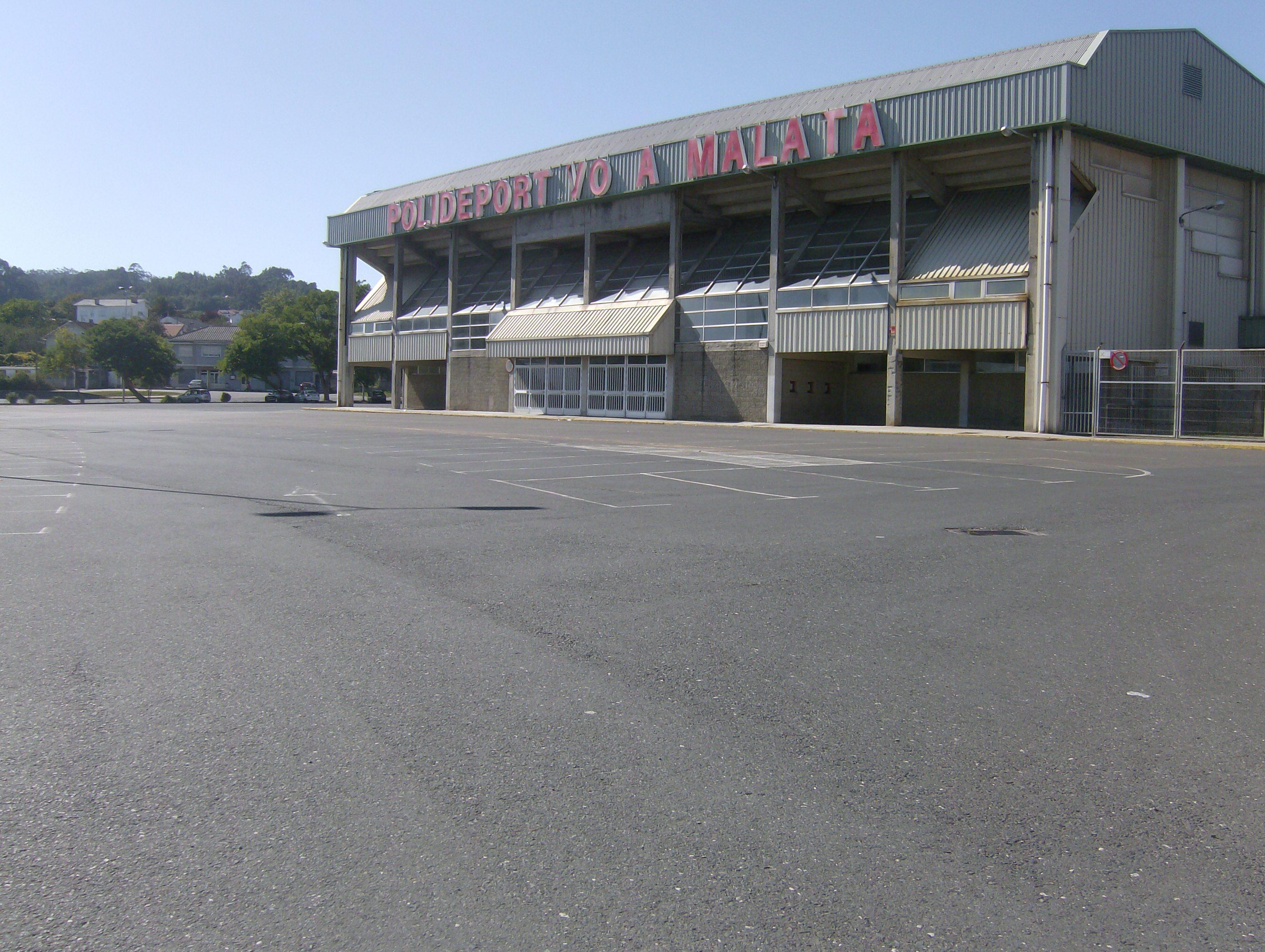 Foto playa Os Olmos. FerrolParkingPolideportivo