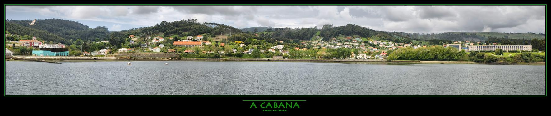 Foto playa A Graña. Panoramica de A Cabana
