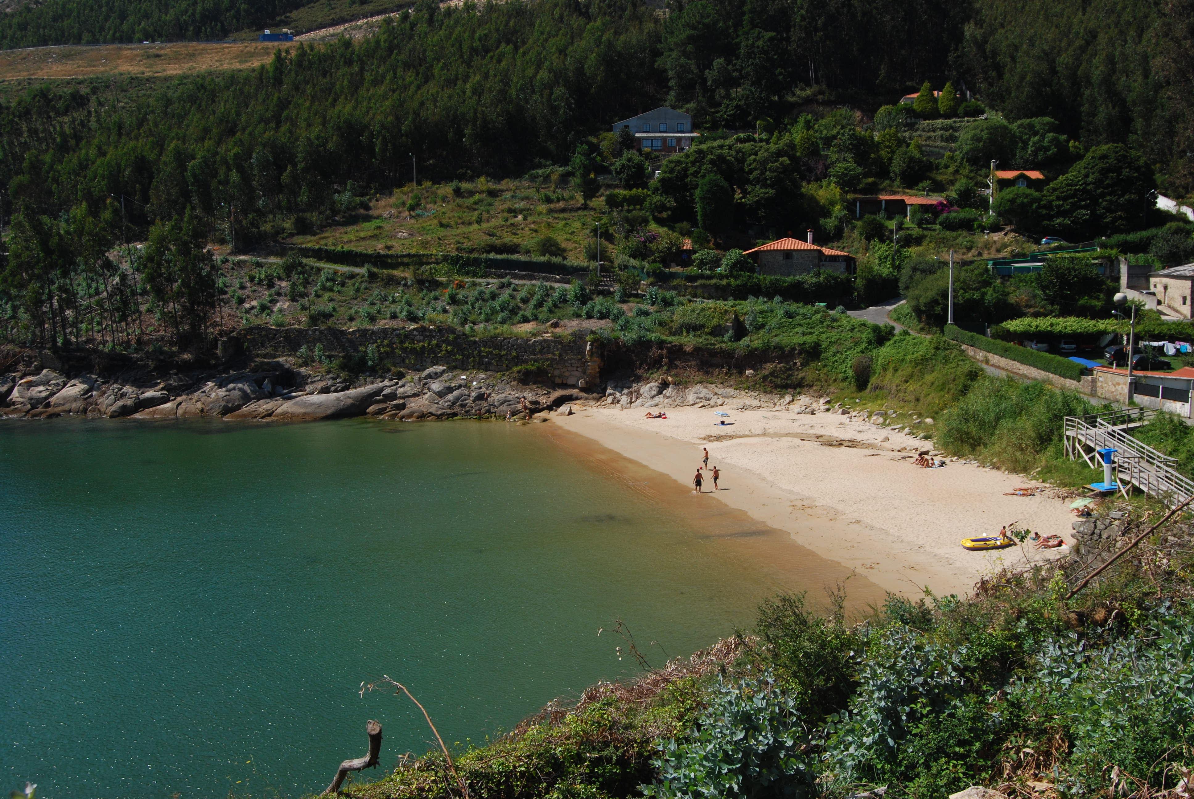 Foto playa Cariño. Cala Preciosa