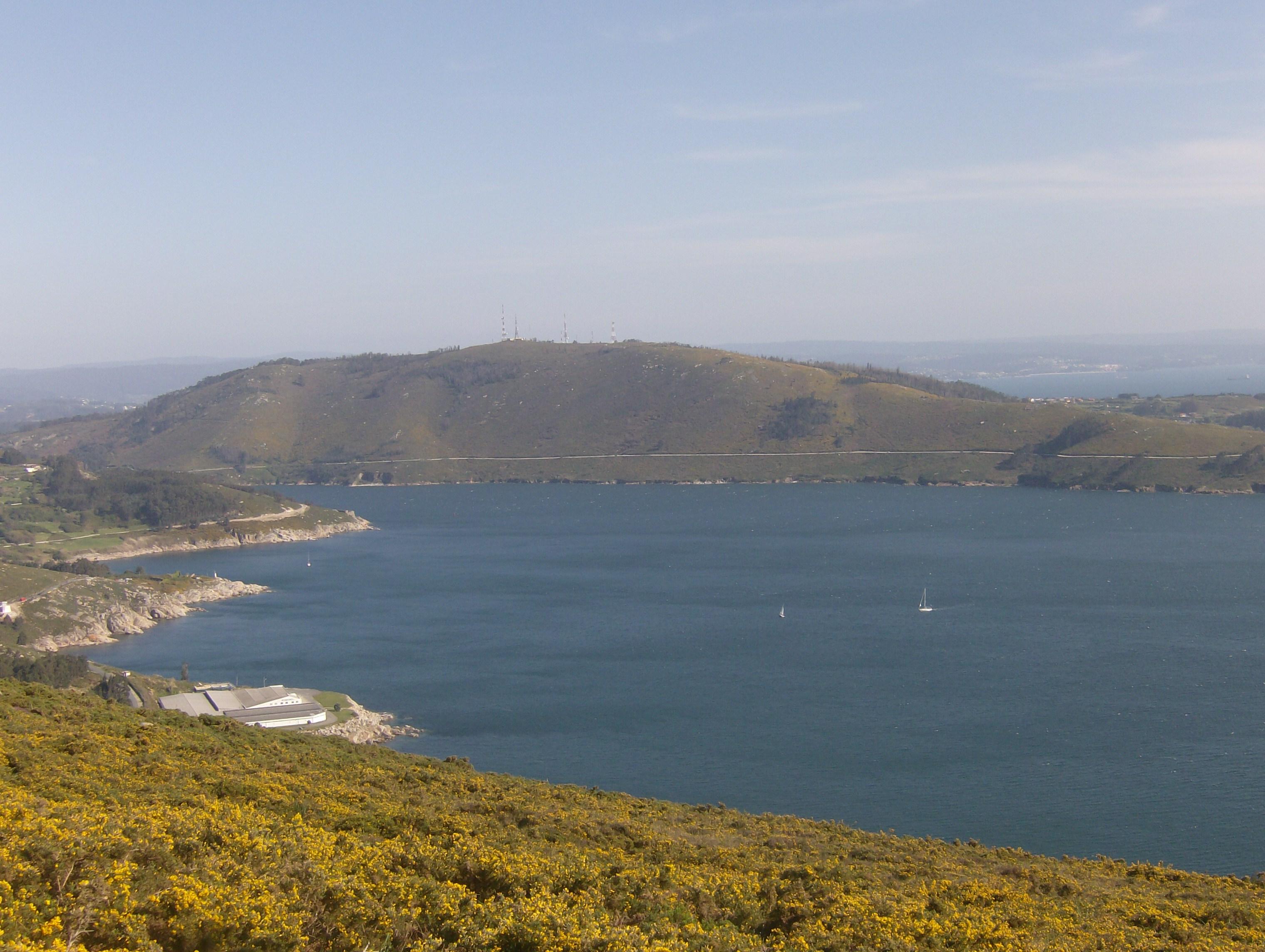 Foto playa Cariño. Ria Ferrol