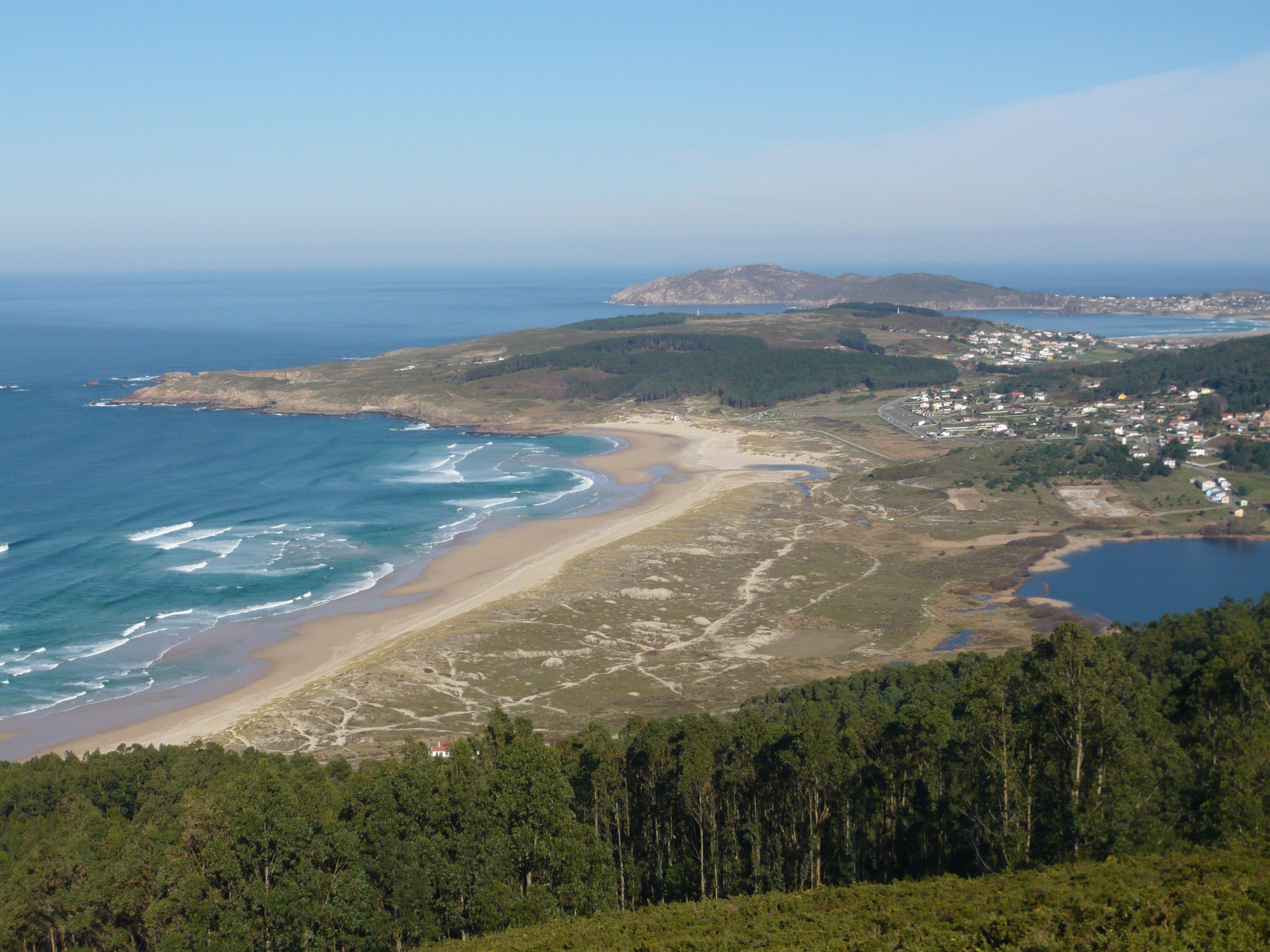 Foto playa Lumebo. Playa de Doniños