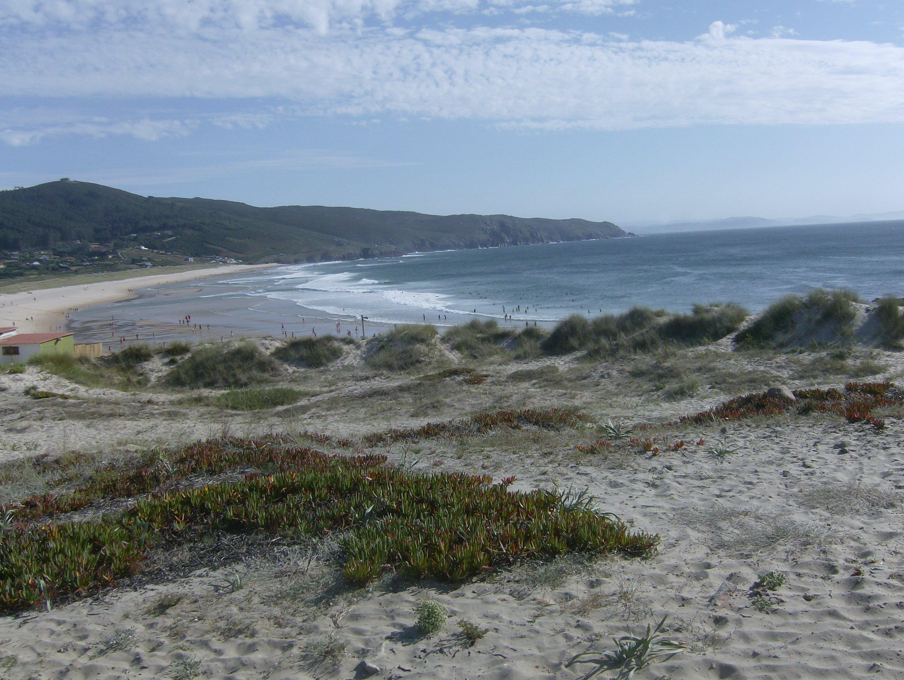 Foto playa Lobadiz. Praia Doniños 1