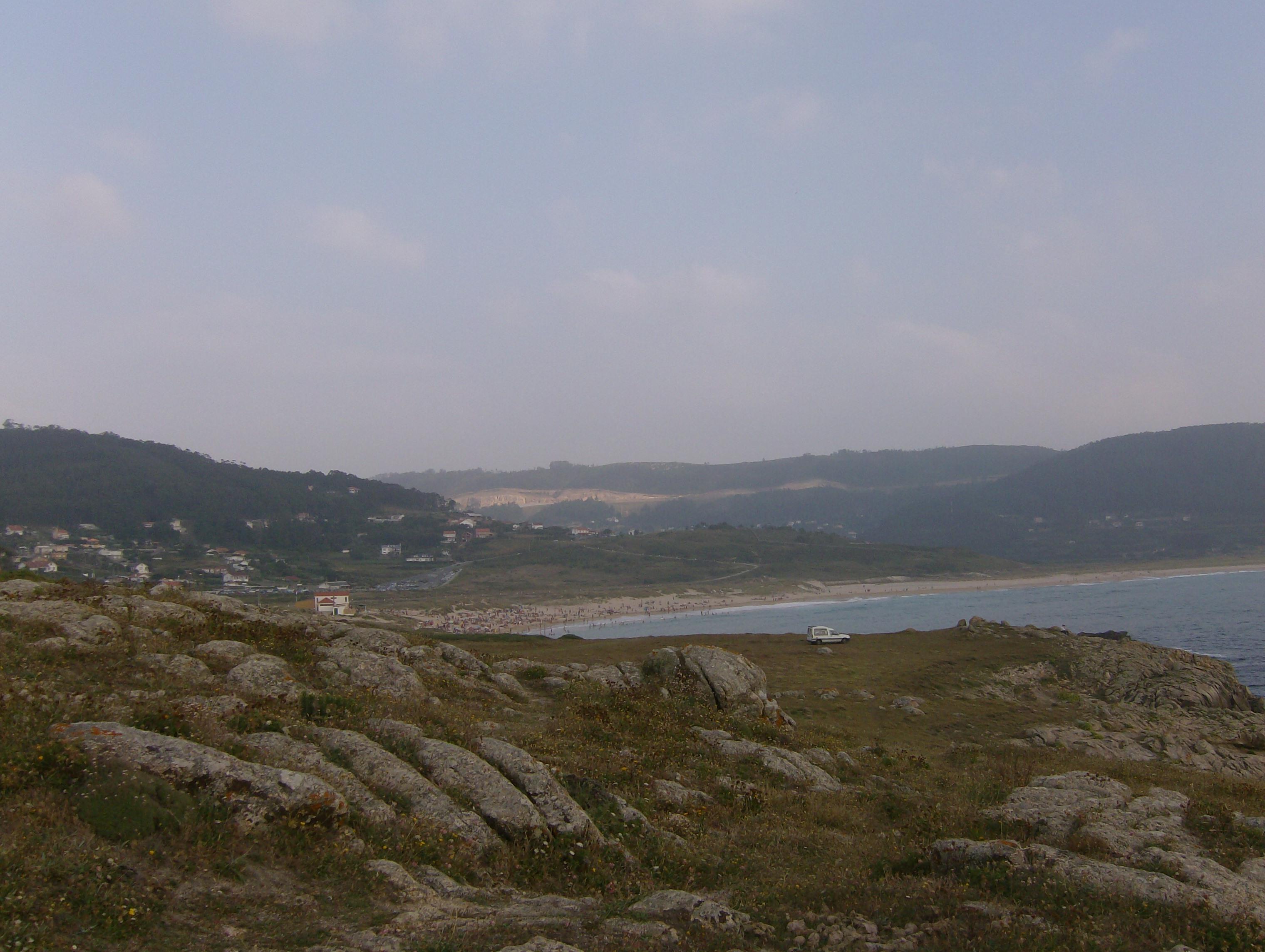 Foto playa Lobadiz. Vista Doniños