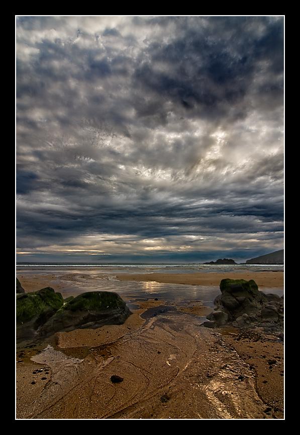 Foto playa Fragata. Tormenta en la Fragata