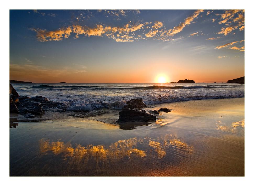 Foto playa Fragata. La arena quiere ser como el cielo...
