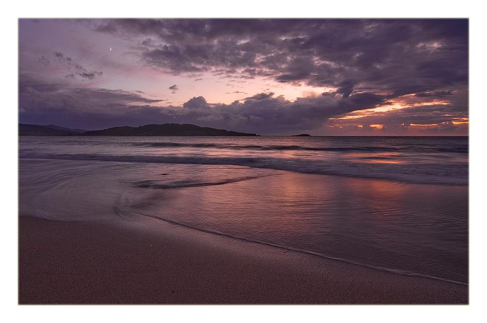 Foto playa Fragata. La raya al medio