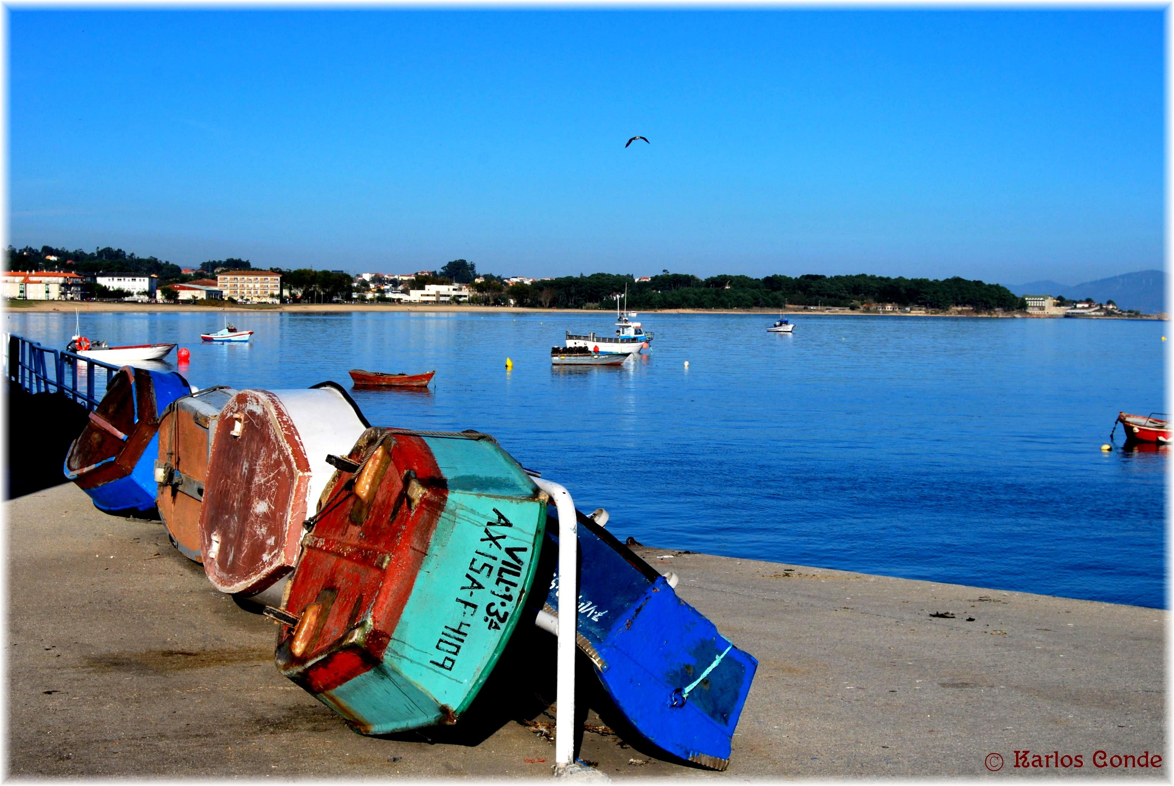 Foto playa Preisal / Vilar Grande. Chinchorros al Sol