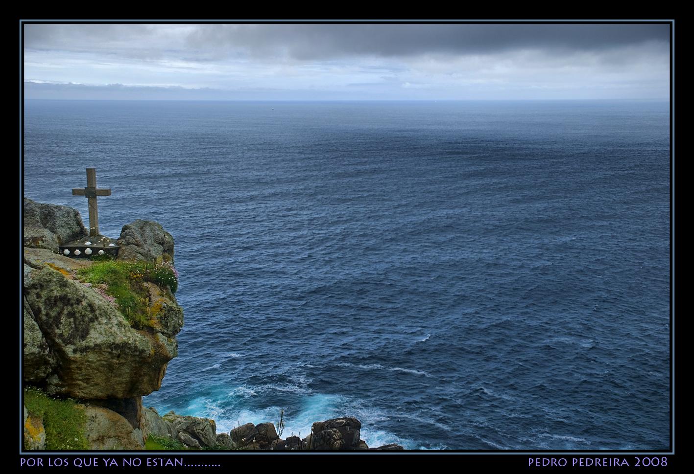 Foto playa O Porto. Por los que ya no están....