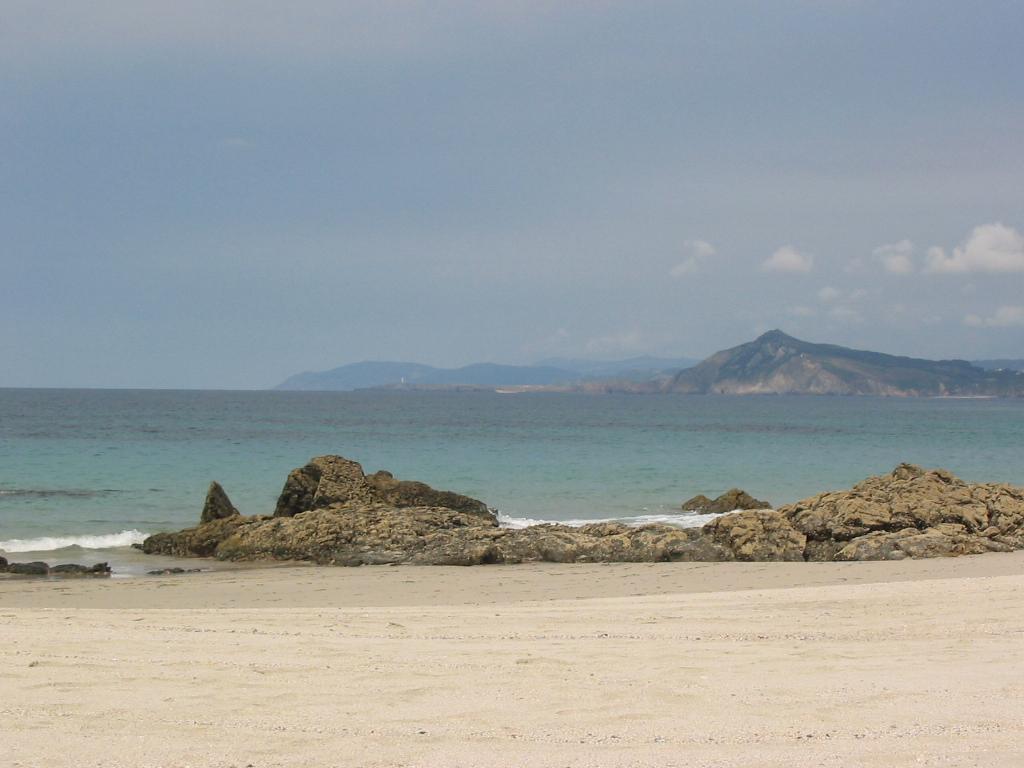 Foto playa Santa Comba. Cala en Santa Comba (Cobas)