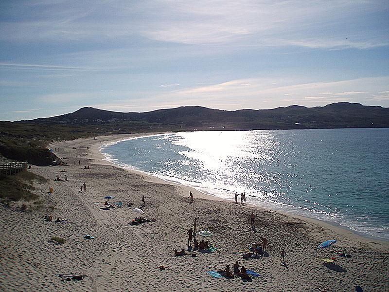 Foto playa As Fontes. santa comba