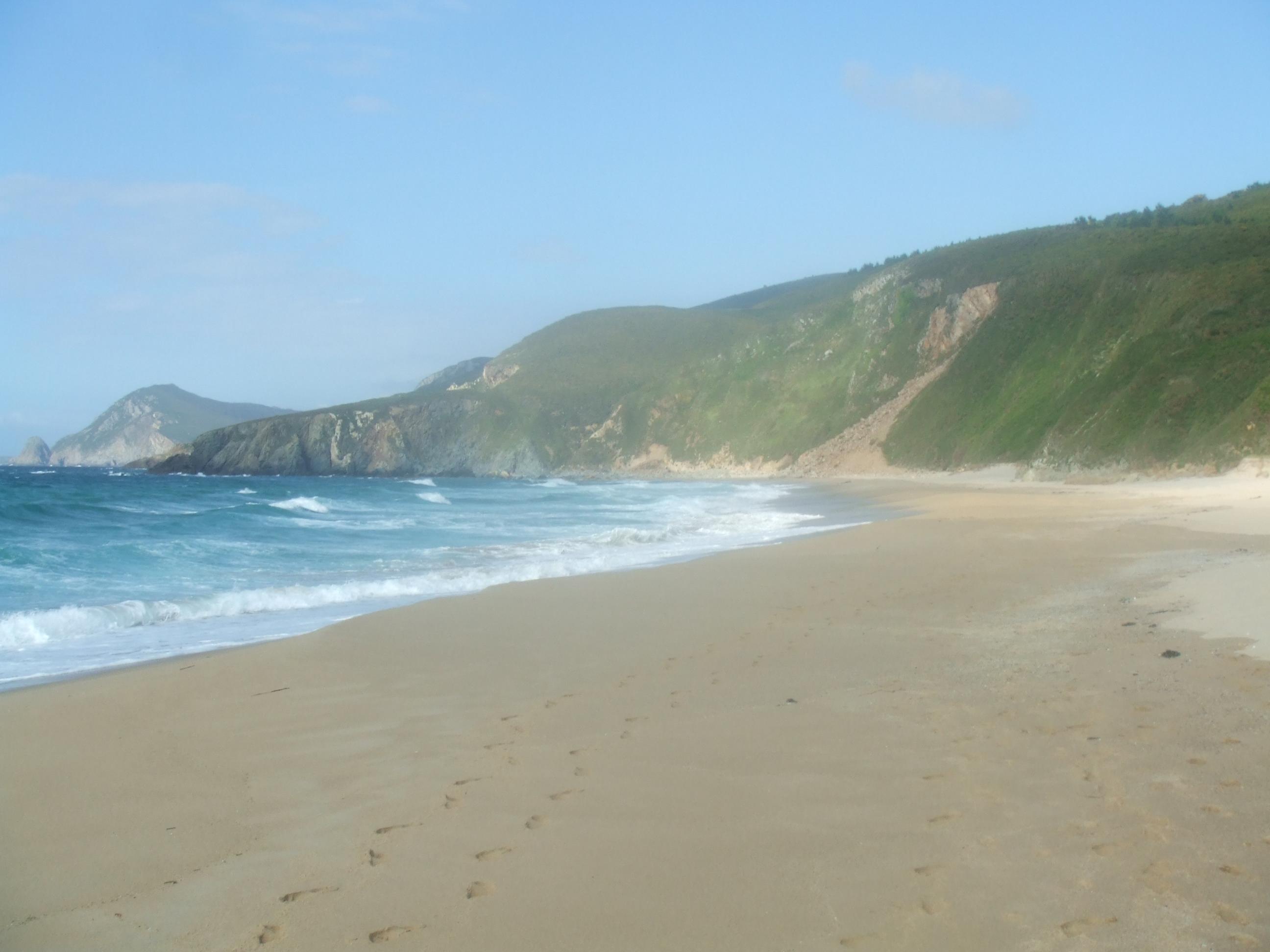 Foto playa Ponzos. ponzos